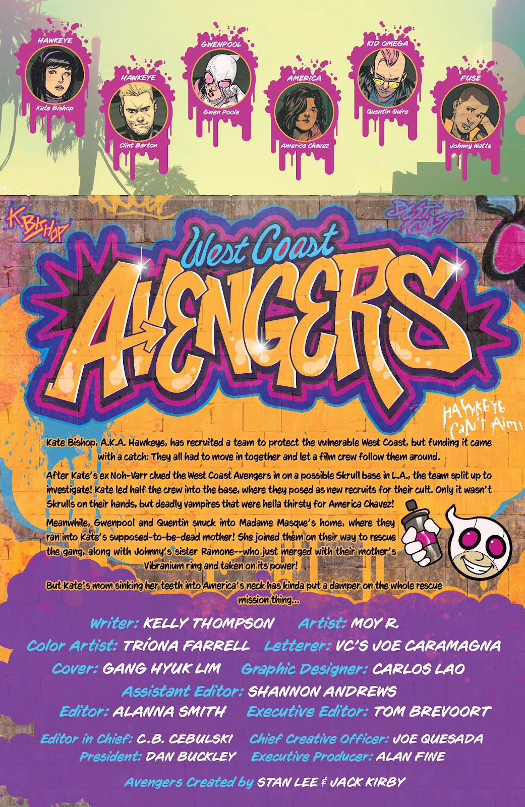 Read online West Coast Avengers (2018) comic -  Issue #10 - 2
