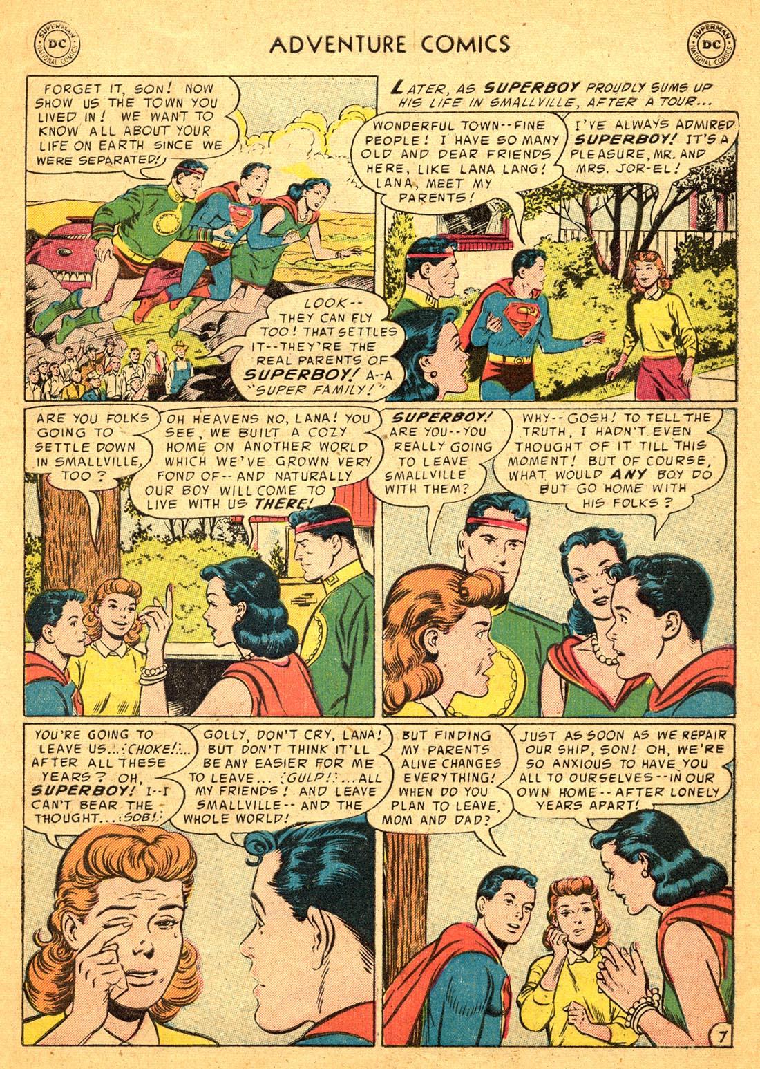 Read online Adventure Comics (1938) comic -  Issue #217 - 9