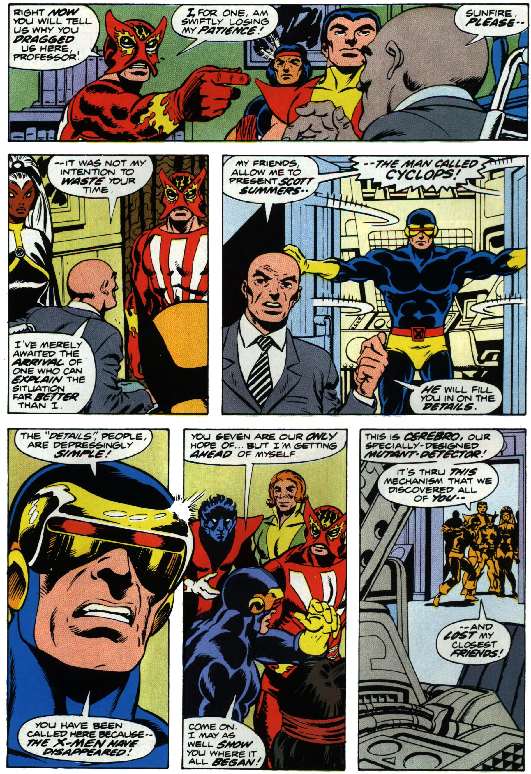 Read online Giant-Size X-Men comic -  Issue #1 - 16
