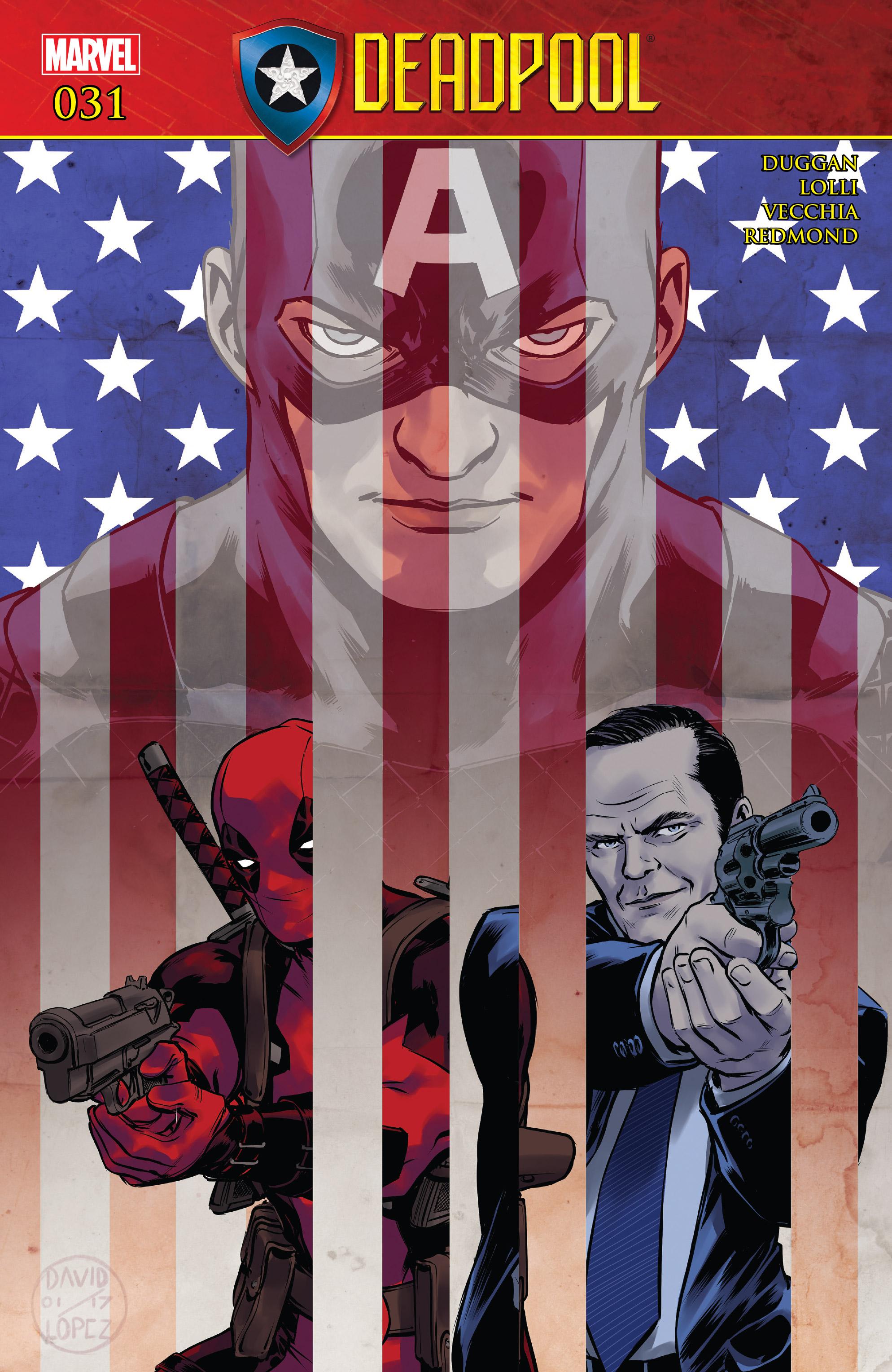 Read online Deadpool (2016) comic -  Issue #31 - 1