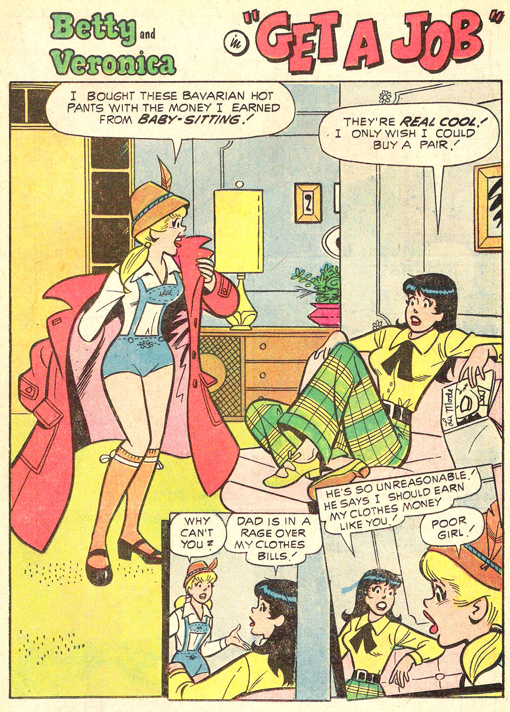 Read online Archie's Girls Betty and Veronica comic -  Issue #196 - 19