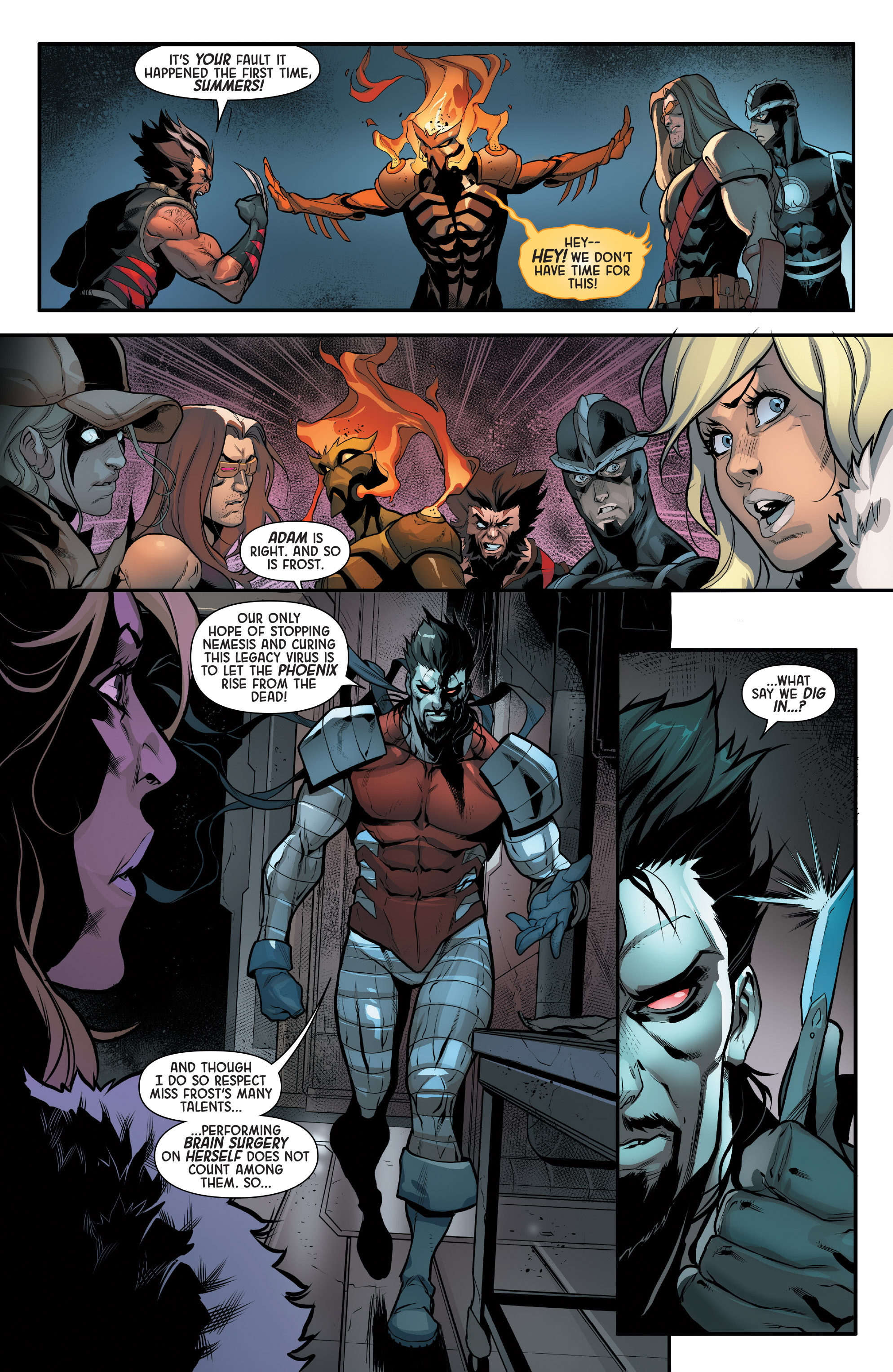 Read online Age of Apocalypse (2015) comic -  Issue #5 - 14