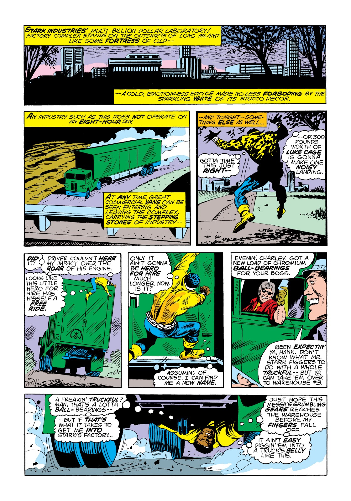 Read online Marvel Masterworks: Luke Cage, Power Man comic -  Issue # TPB 2 (Part 1) - 15