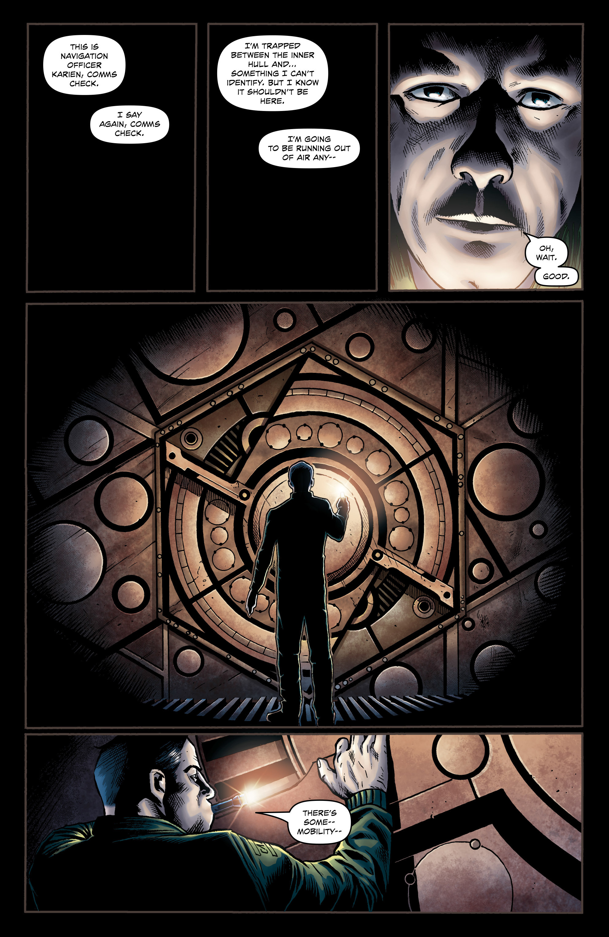 Read online Caliban comic -  Issue #1 - 24