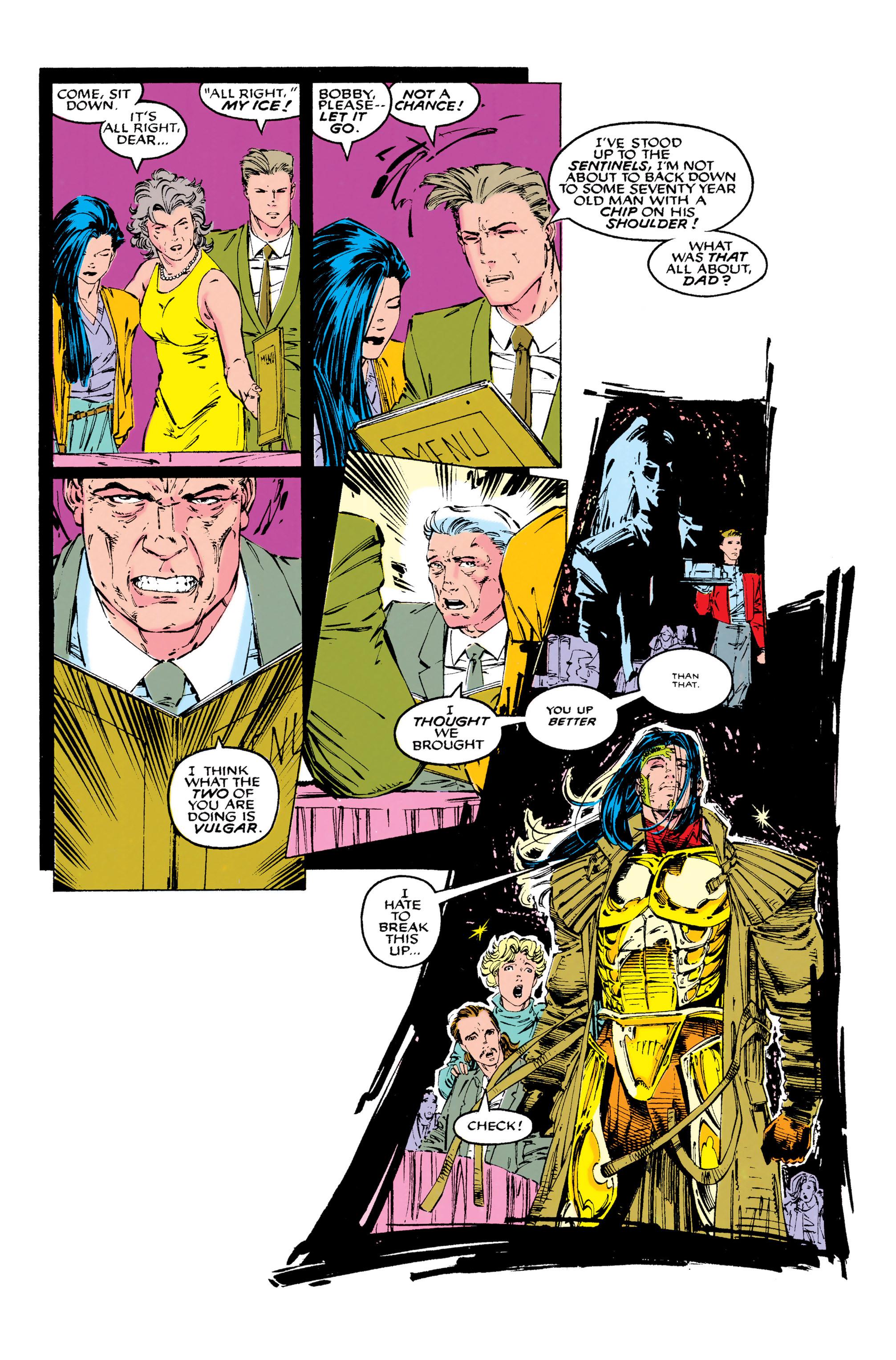 Read online Uncanny X-Men (1963) comic -  Issue #289 - 20