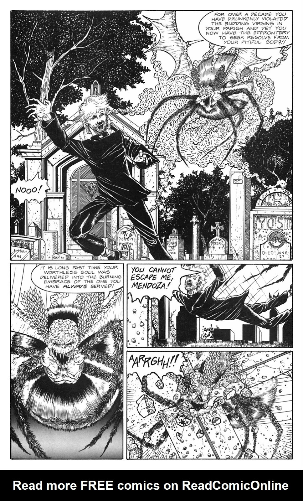 Read online Gunfighters in Hell comic -  Issue #5 - 7