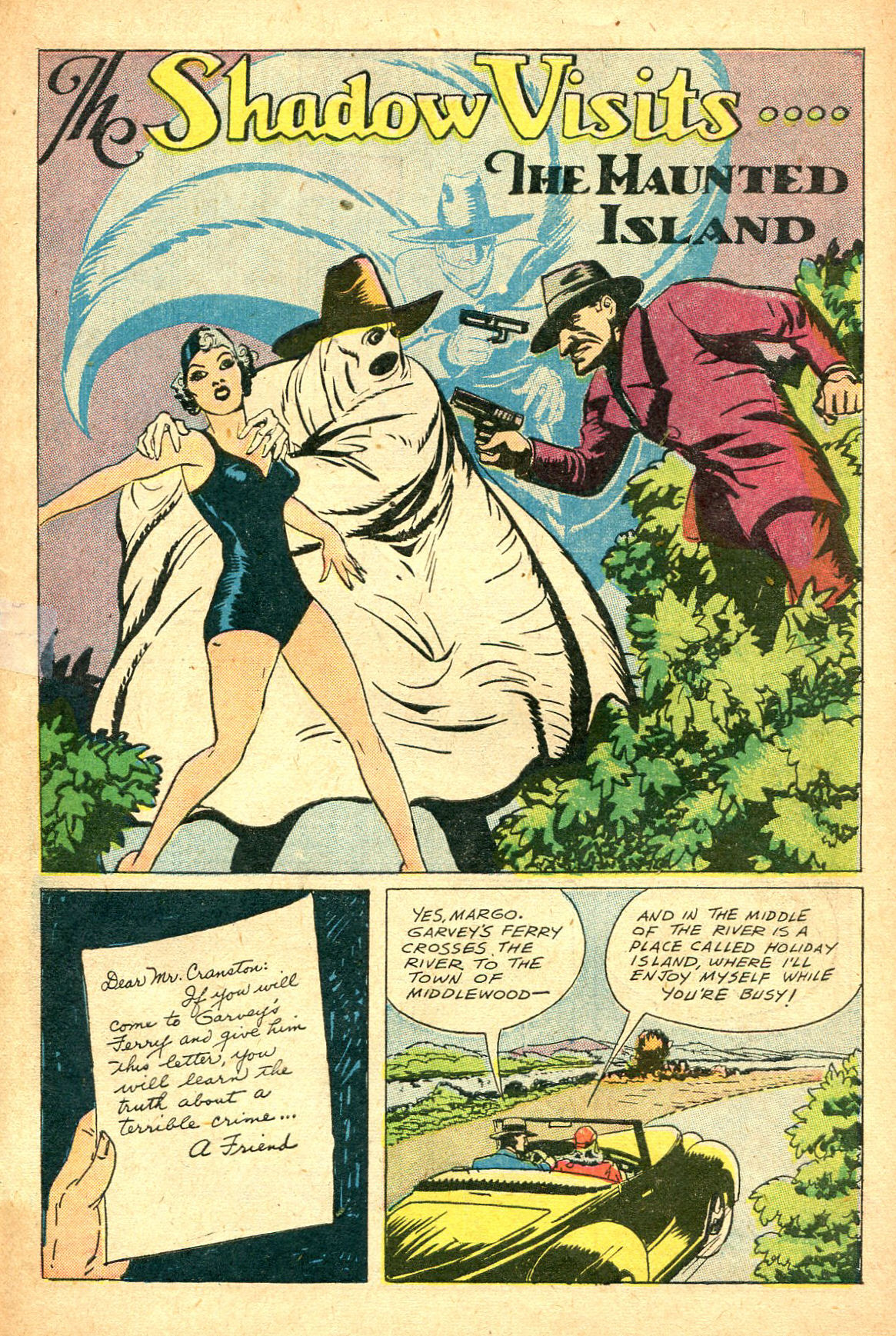 Read online Shadow Comics comic -  Issue #47 - 42