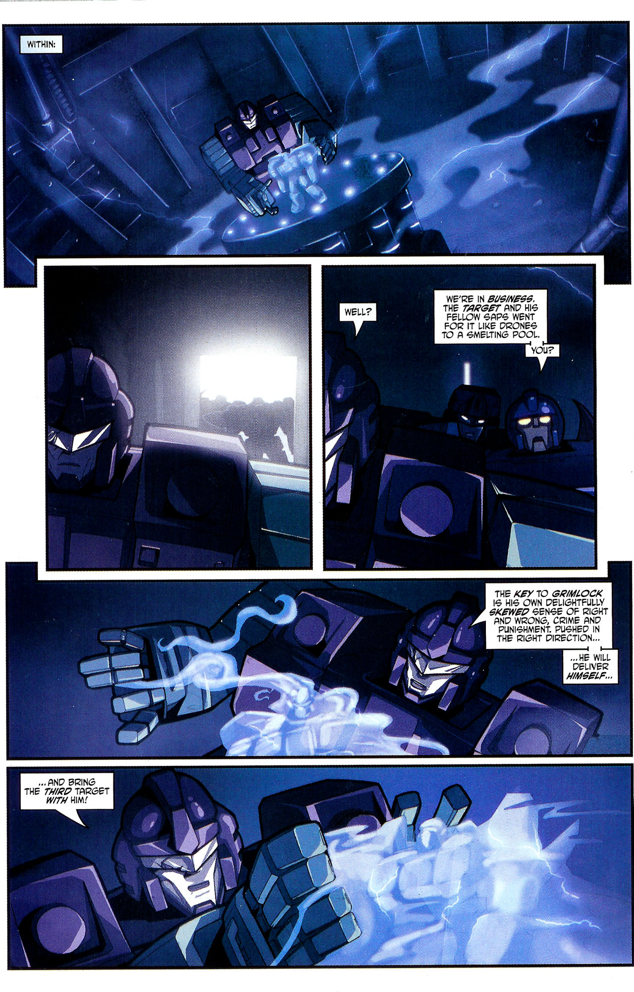 """Read online Transformers War Within: """"The Dark Ages"""" comic -  Issue #2 - 17"""