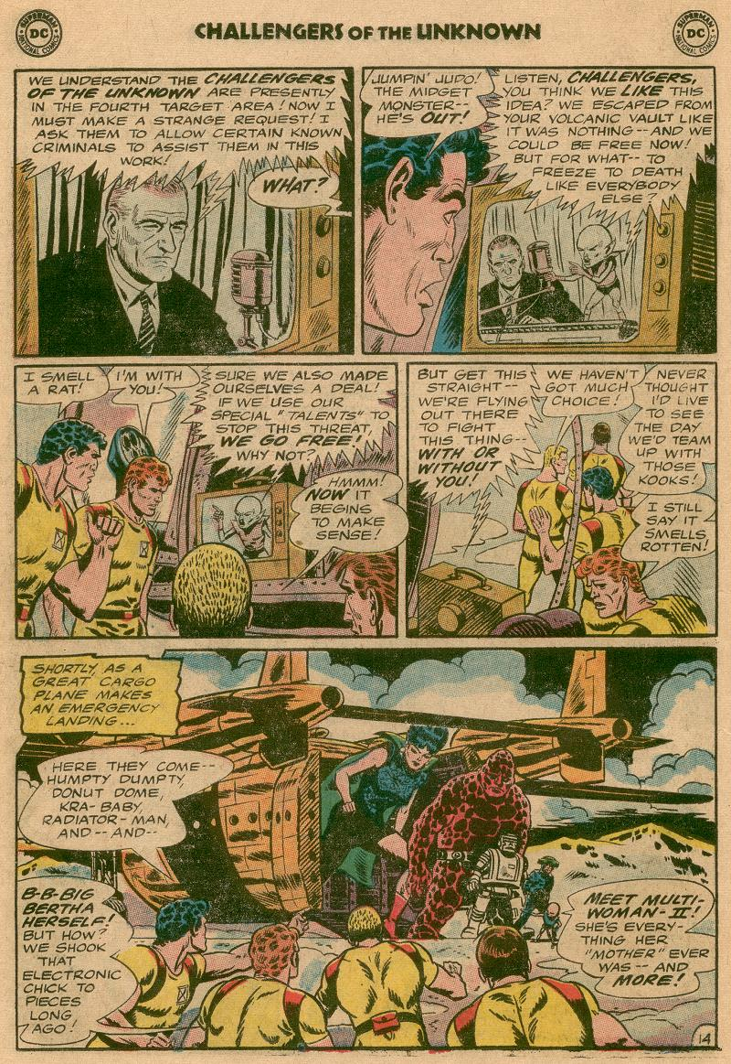 Challengers of the Unknown (1958) issue 45 - Page 17
