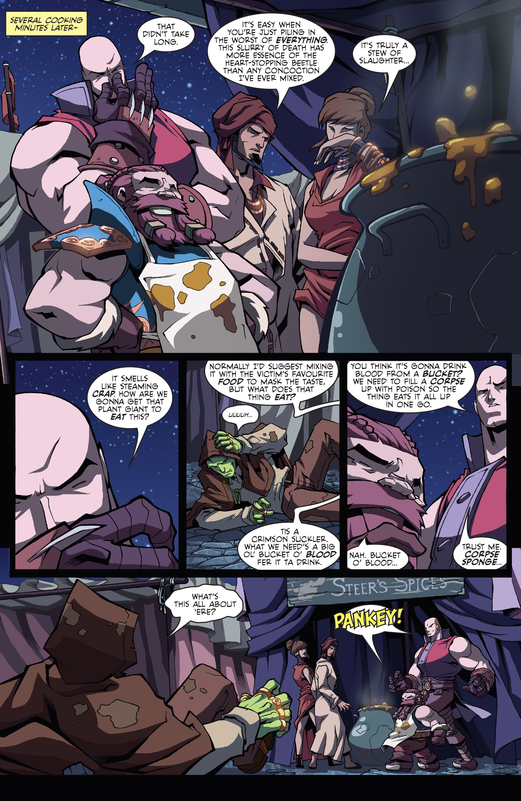 Read online Skullkickers comic -  Issue #11 - 13