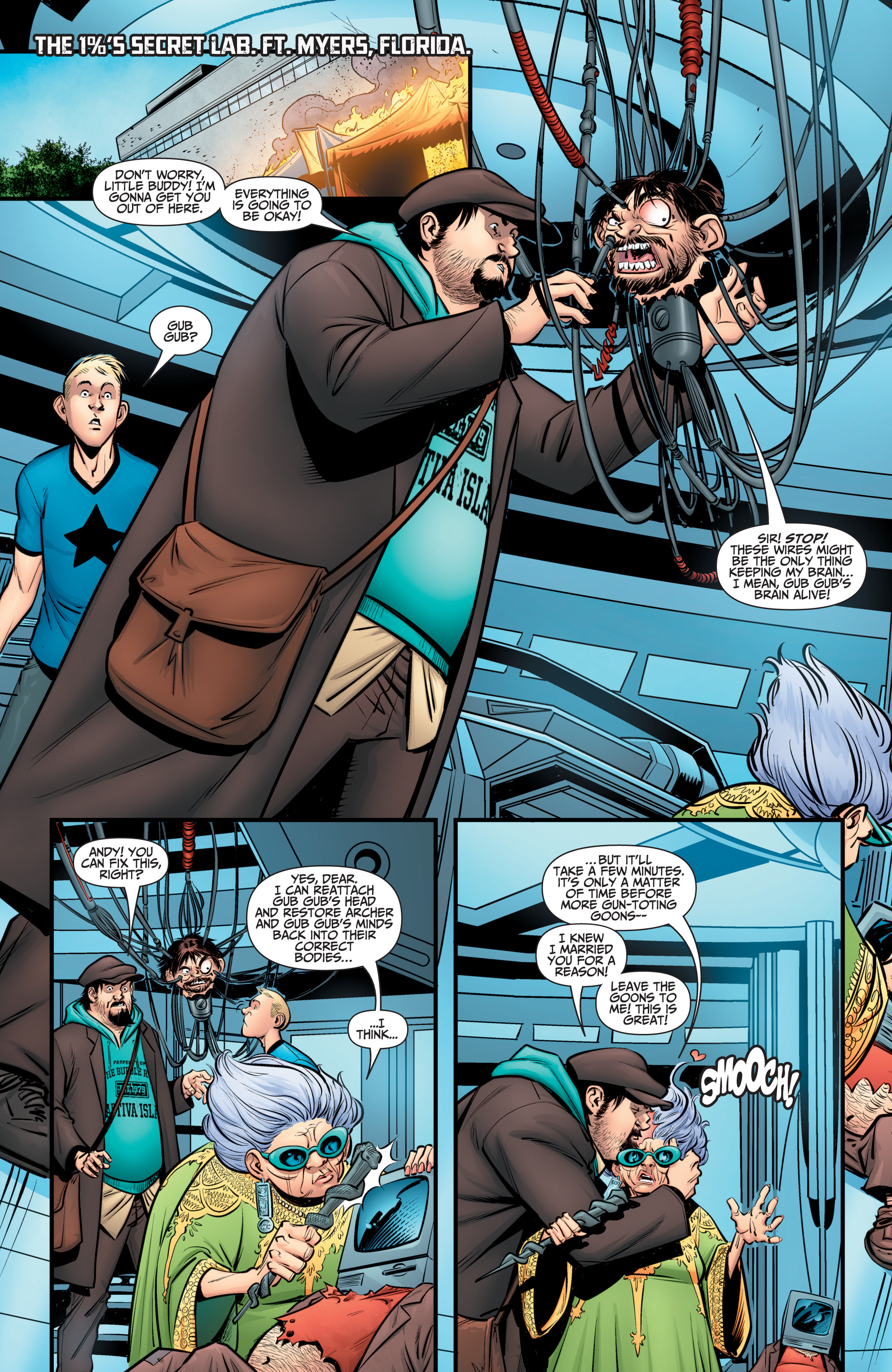 Read online A&A: The Adventures of Archer & Armstrong comic -  Issue #12 - 3