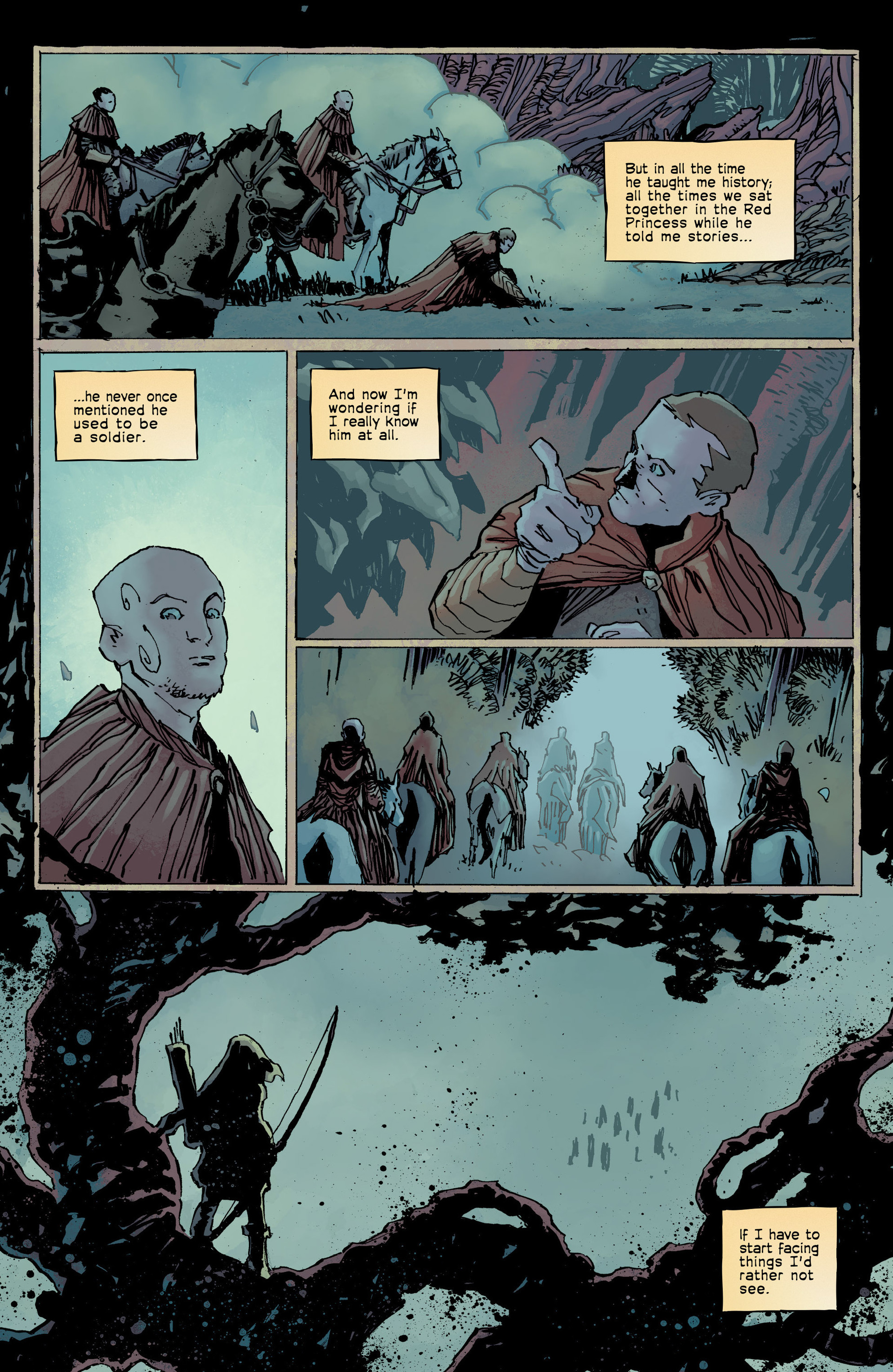 Read online Umbral comic -  Issue #8 - 14