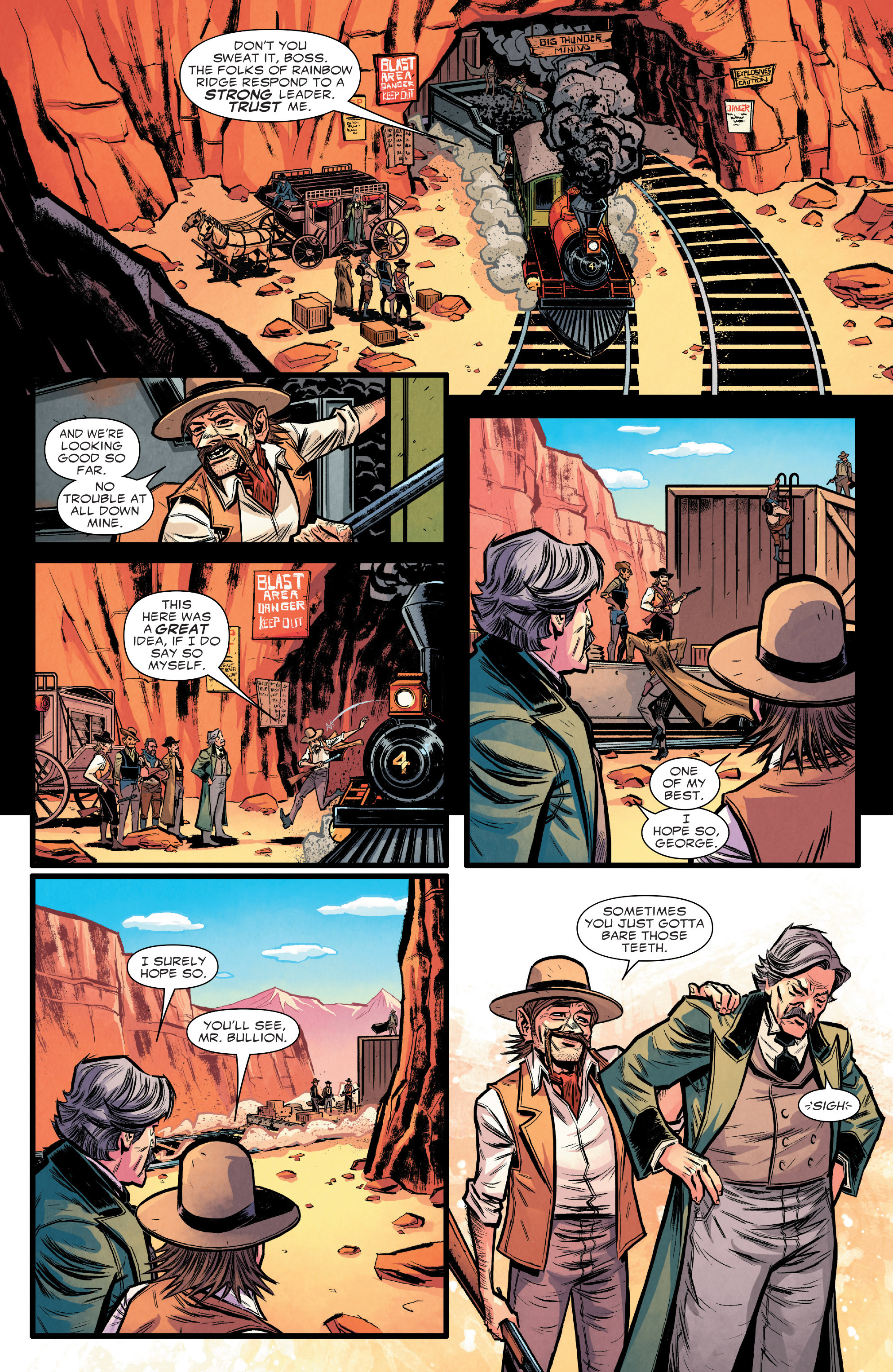 Read online Big Thunder Mountain Railroad comic -  Issue #4 - 4