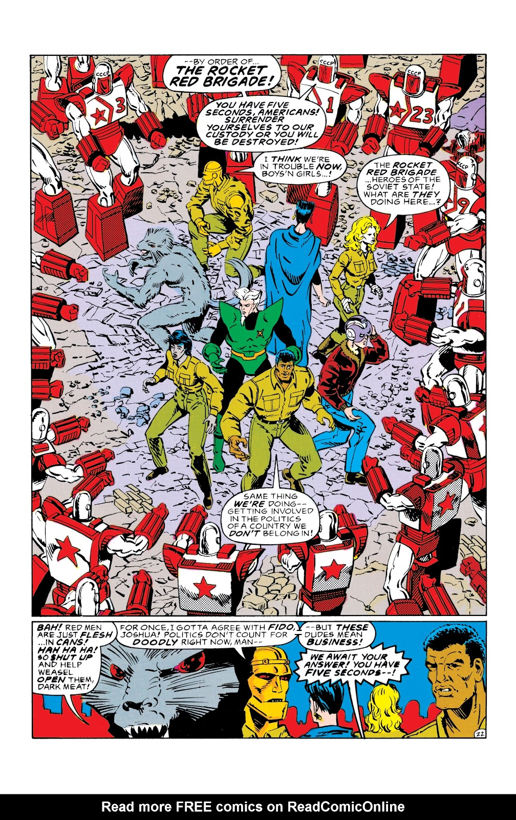 Doom Patrol and Suicide Squad Special issue Special 1 - Page 22