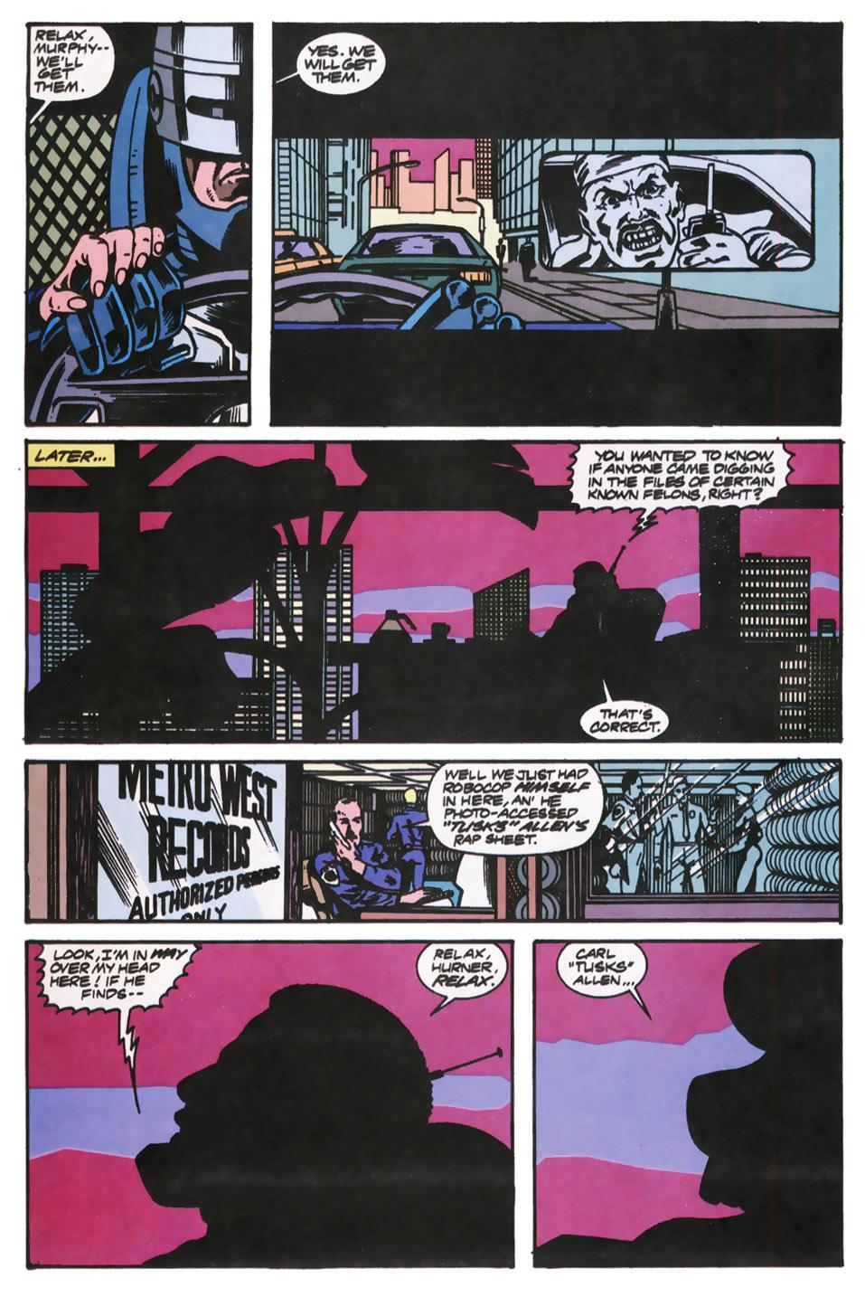 Read online Robocop (1990) comic -  Issue #12 - 11