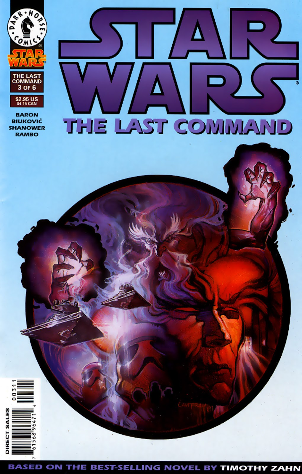 Star Wars: The Last Command issue 3 - Page 1