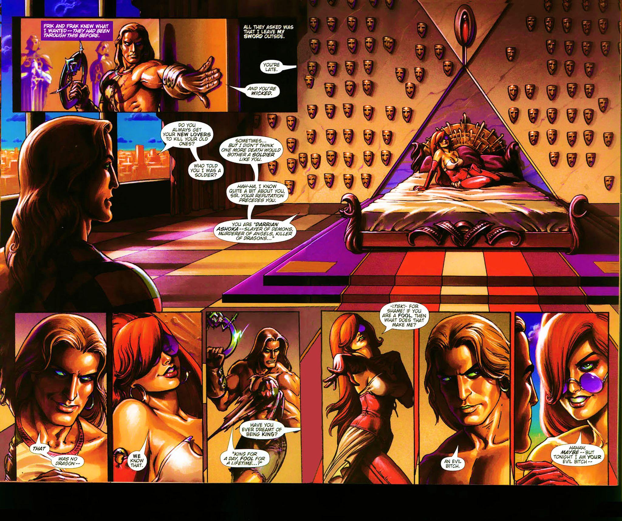 Read online Dawn: Three Tiers comic -  Issue #4 - 22