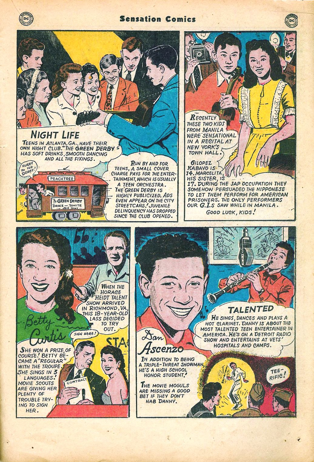 Read online Sensation (Mystery) Comics comic -  Issue #95 - 33
