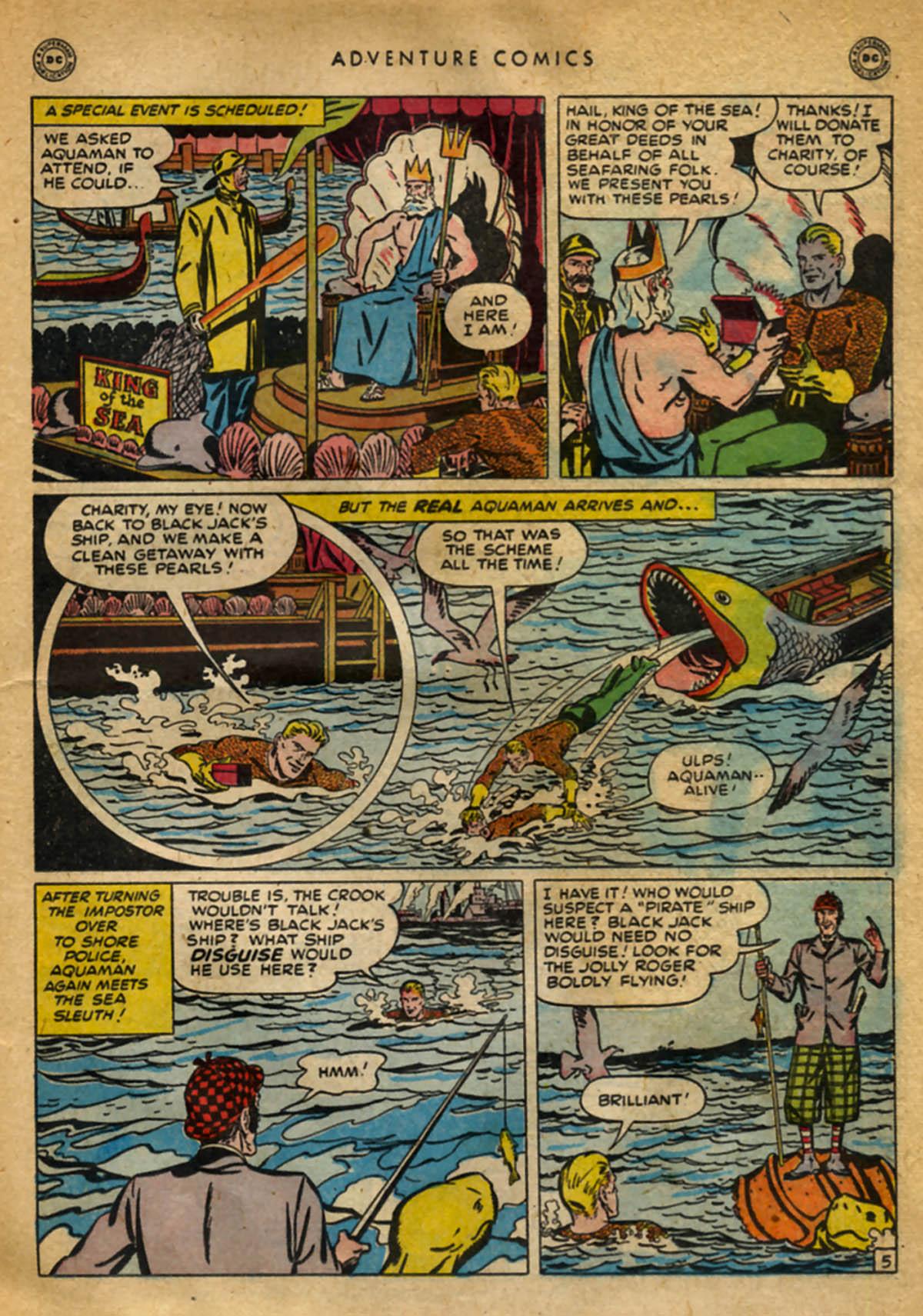 Read online Adventure Comics (1938) comic -  Issue #141 - 33