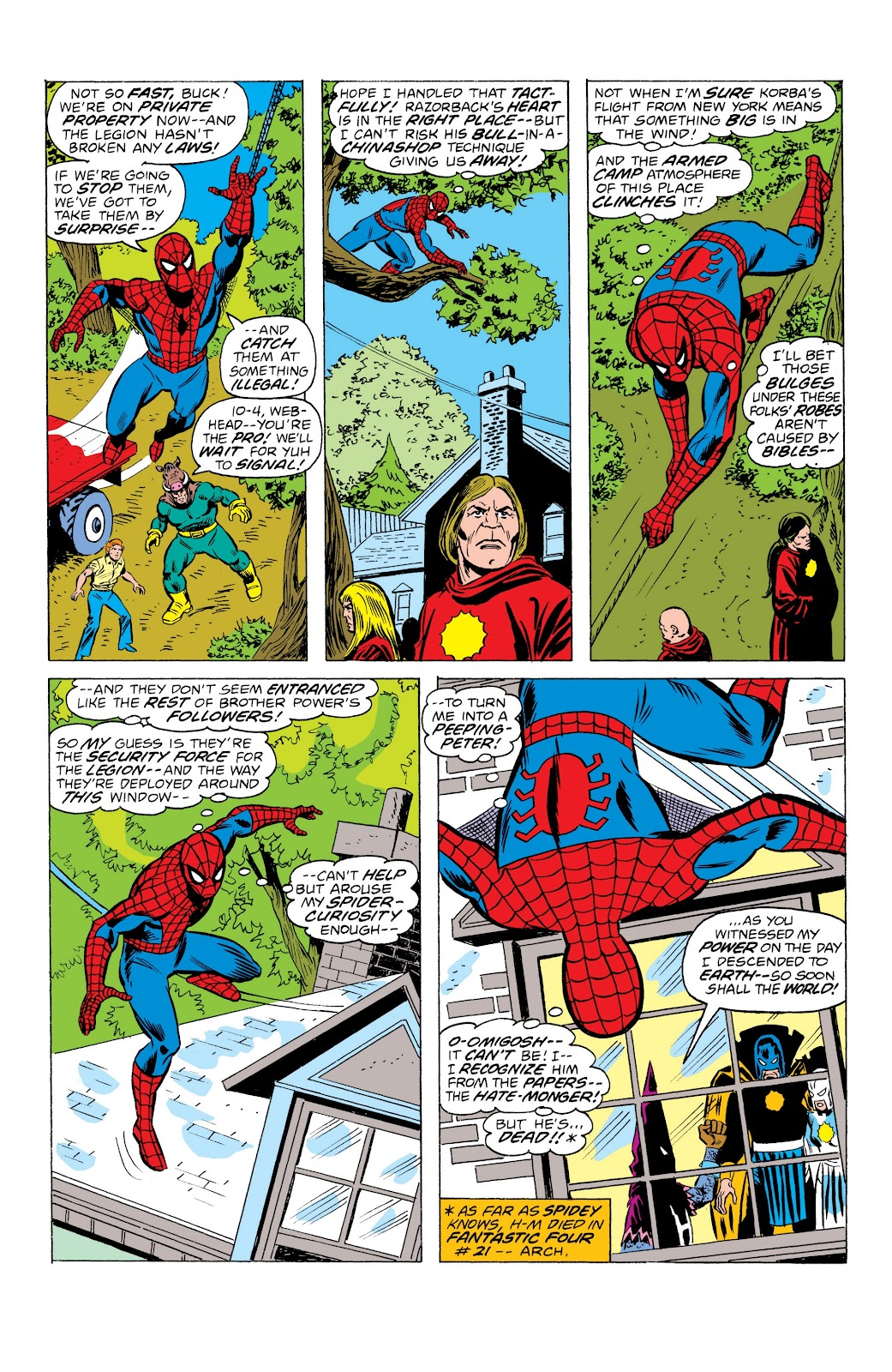 Read online Marvel Masterworks: The Spectacular Spider-Man comic -  Issue # TPB (Part 3) - 23