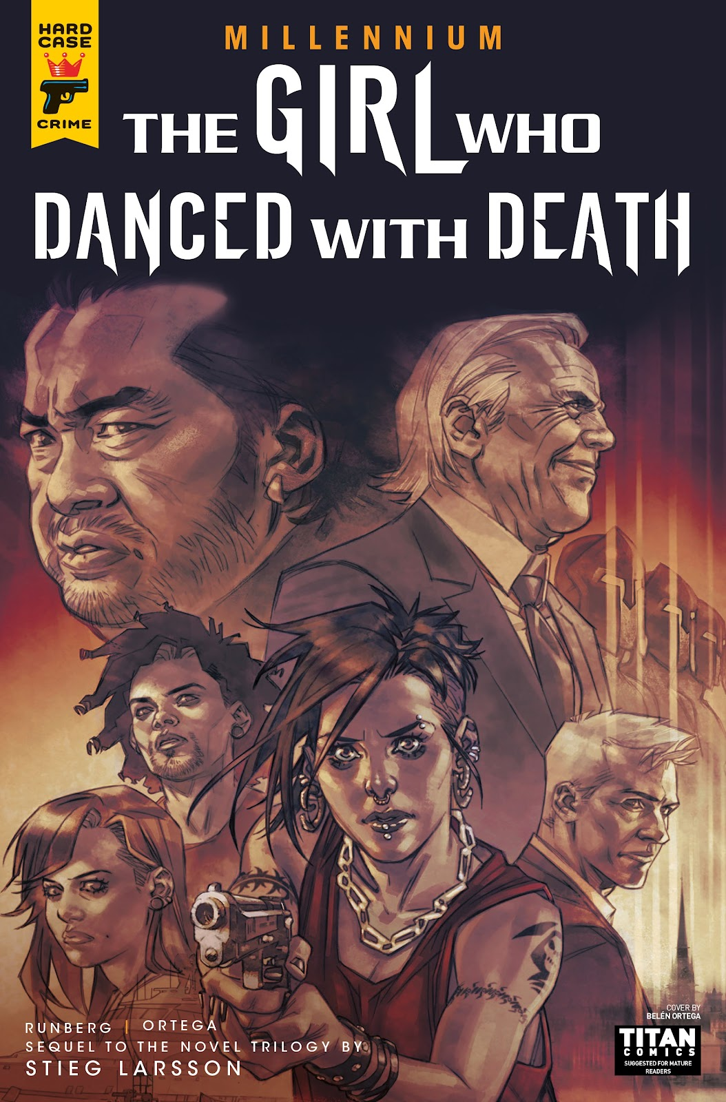 Read online Millennium: The Girl Who Danced With Death comic -  Issue #3 - 2