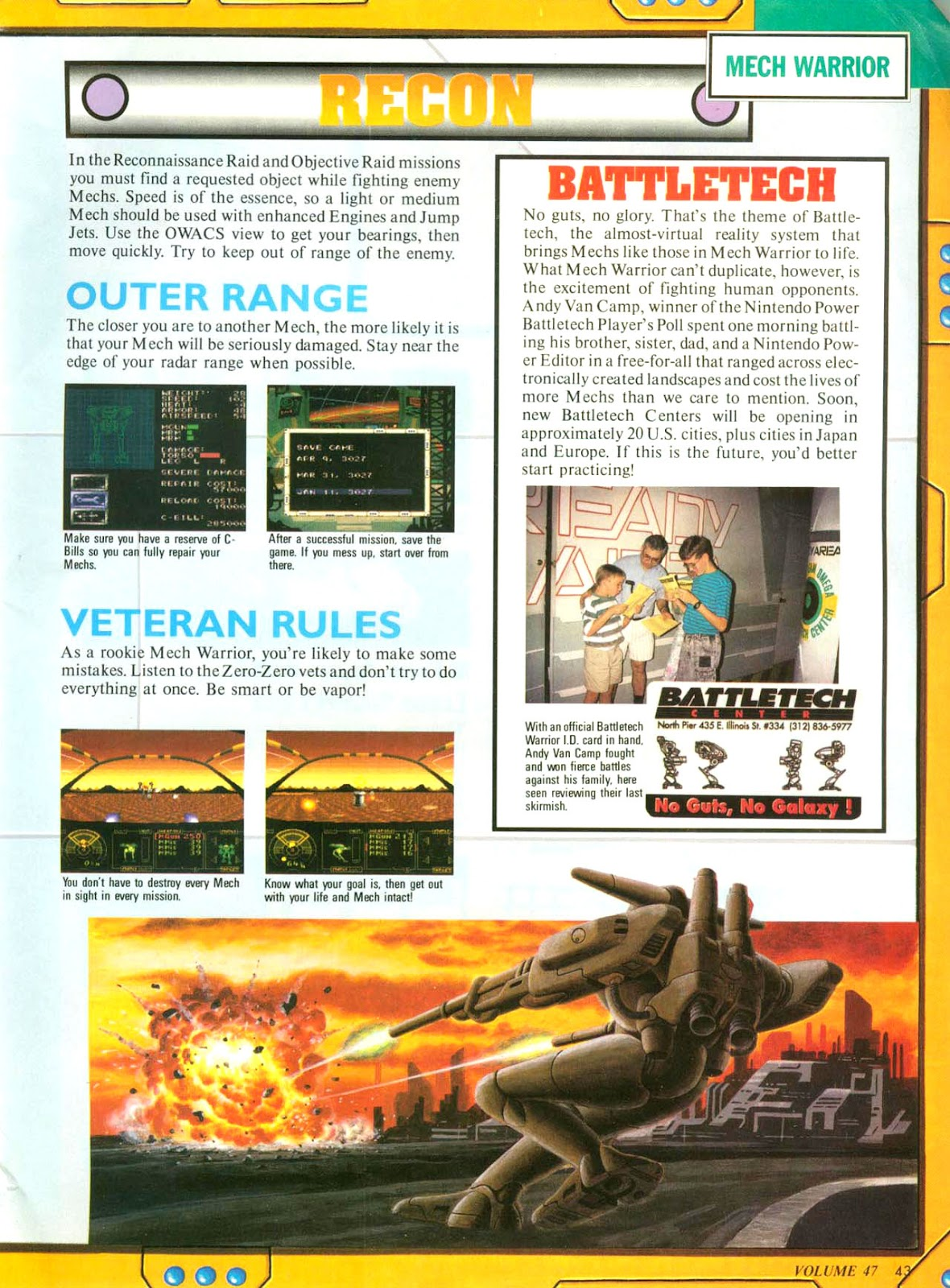 Comic Nintendo Power issue 47