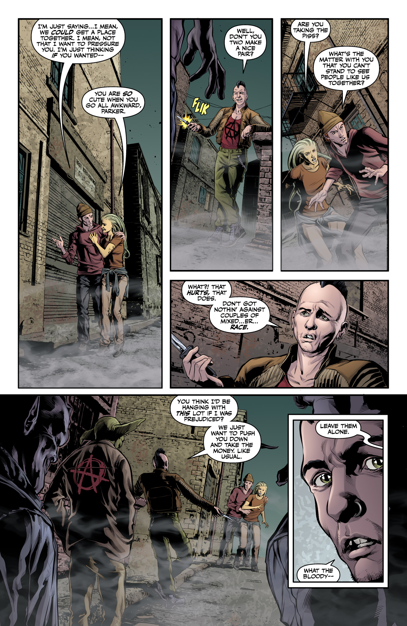 Read online Angel & Faith Season 10 comic -  Issue #11 - 4