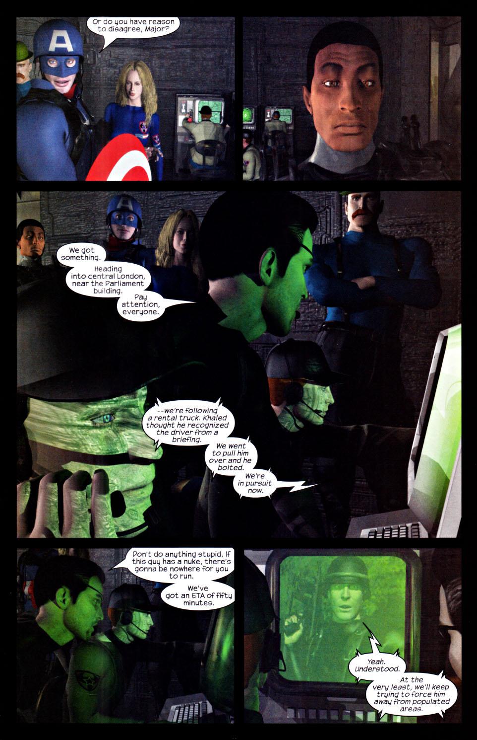 Read online U.S. War Machine 2.0 comic -  Issue #2 - 18