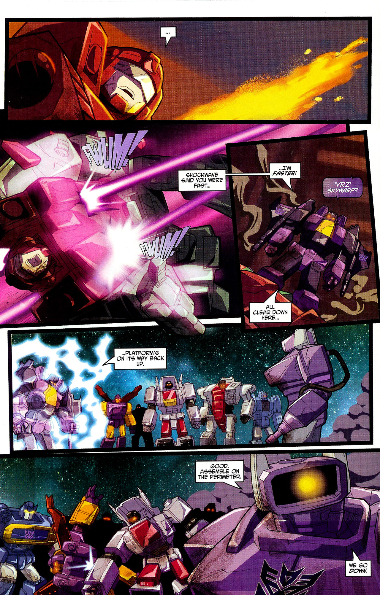 "Read online Transformers War Within: ""The Dark Ages"" comic -  Issue #6 - 13"