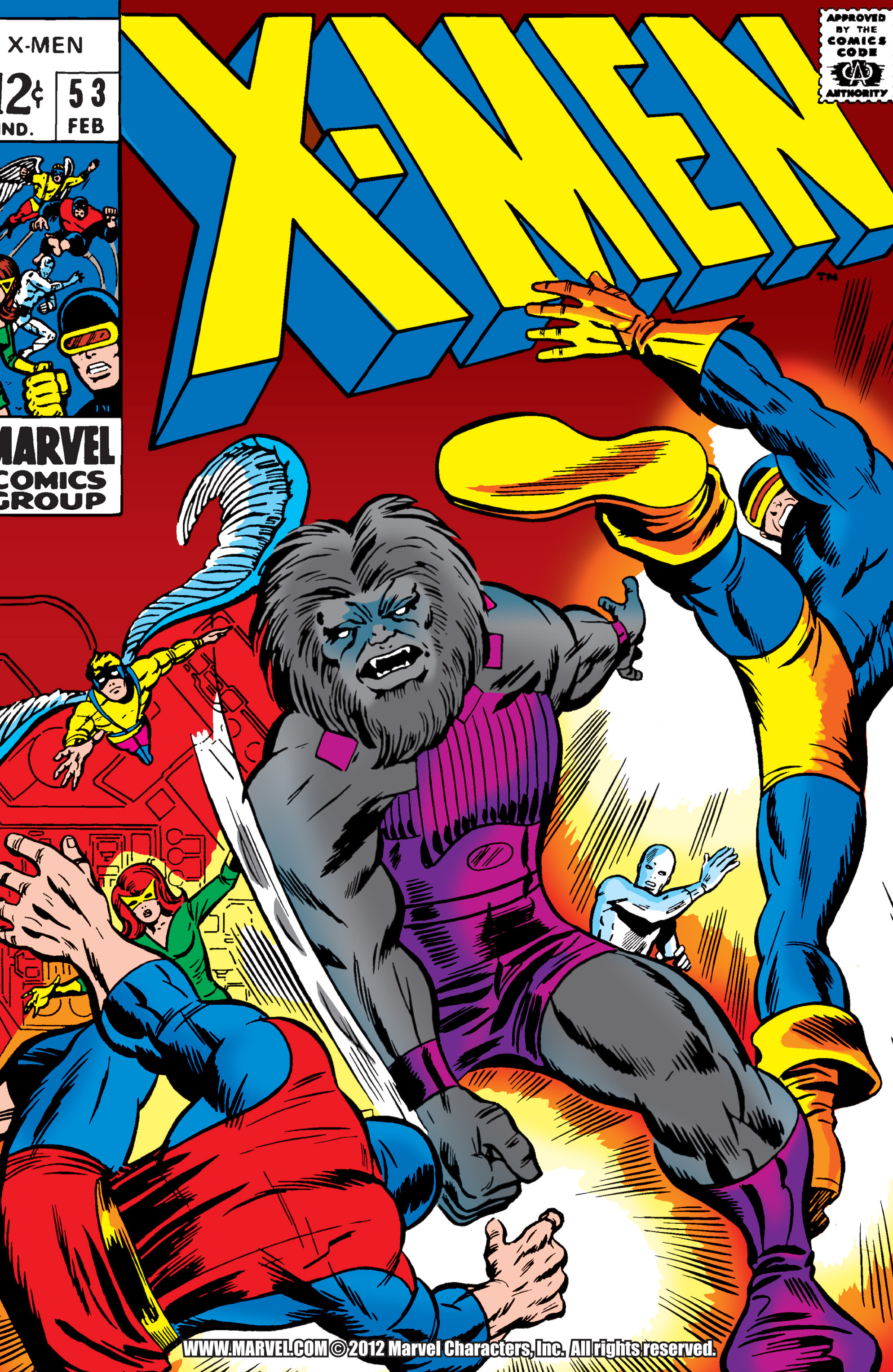 Read online Uncanny X-Men (1963) comic -  Issue #53 - 1