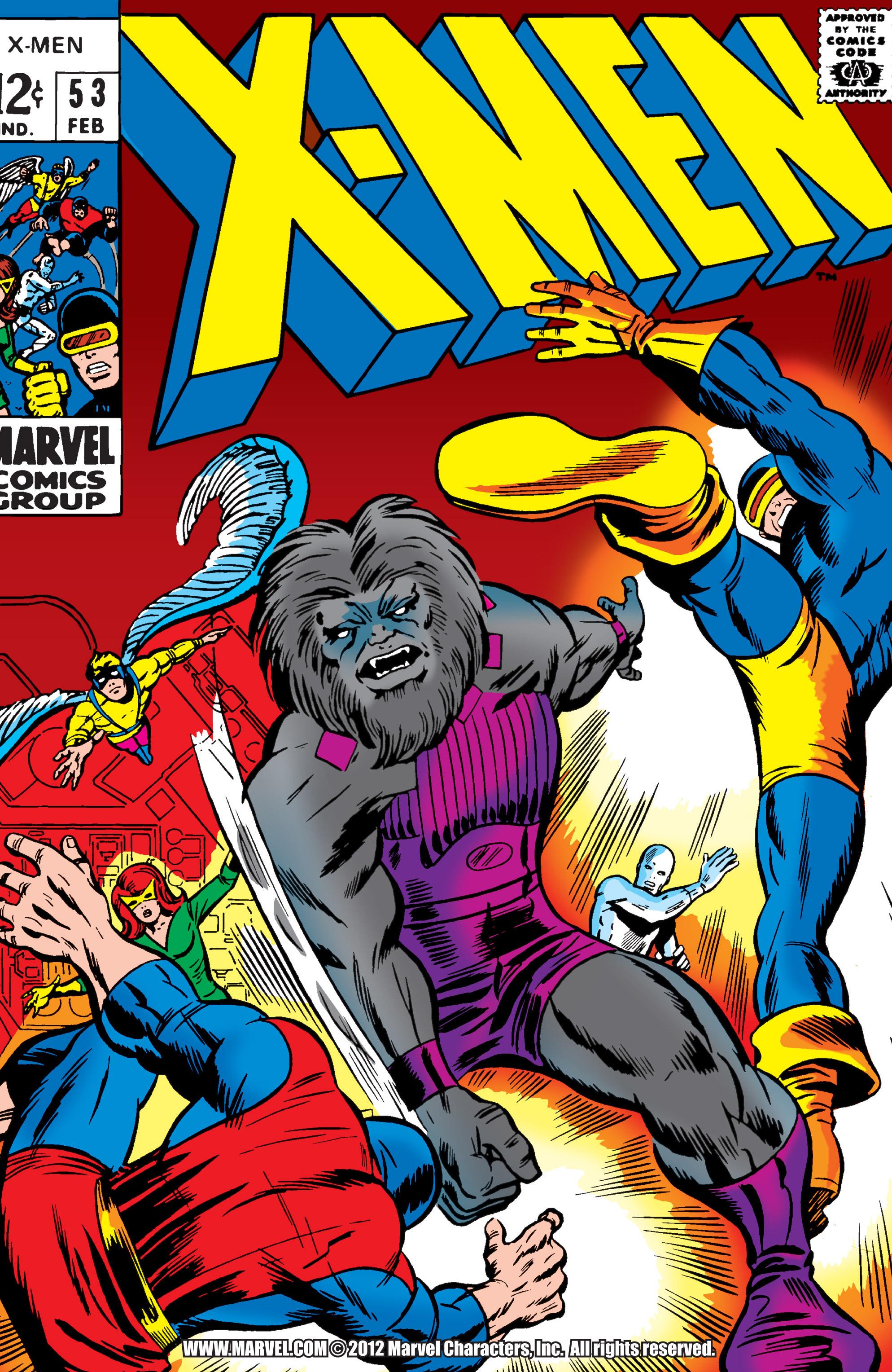 Uncanny X-Men (1963) 53 Page 1