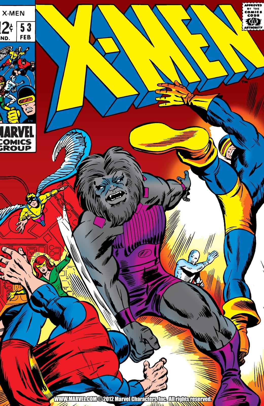 Uncanny X-Men (1963) issue 53 - Page 1