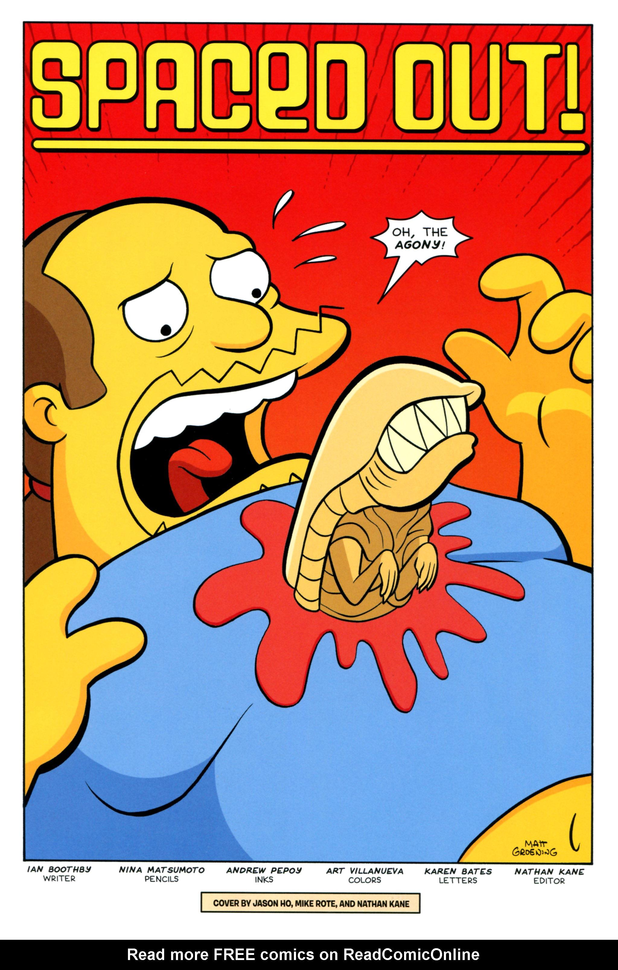 Read online Simpsons Comics comic -  Issue #218 - 3