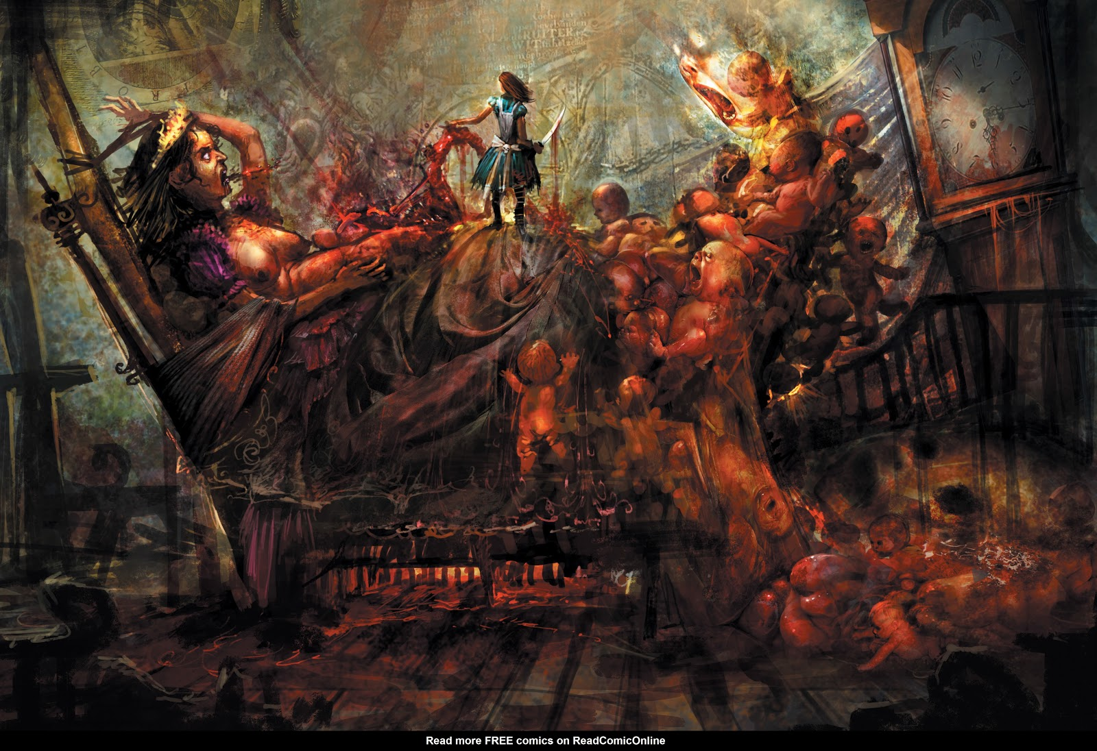 Read online The Art of Alice: Madness Returns comic -  Issue # TPB (Part 1) - 20