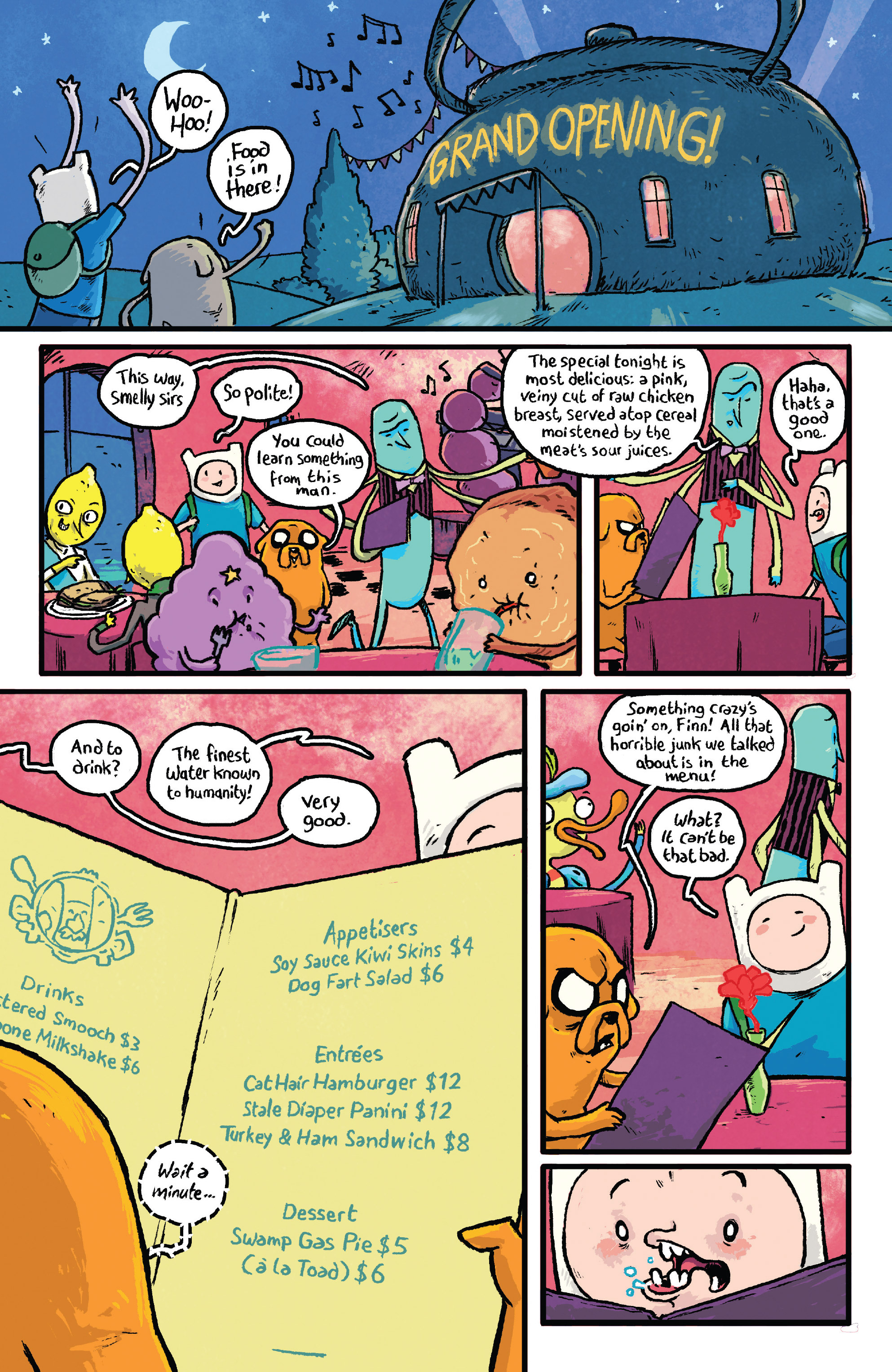 Read online Adventure Time comic -  Issue #29 - 21