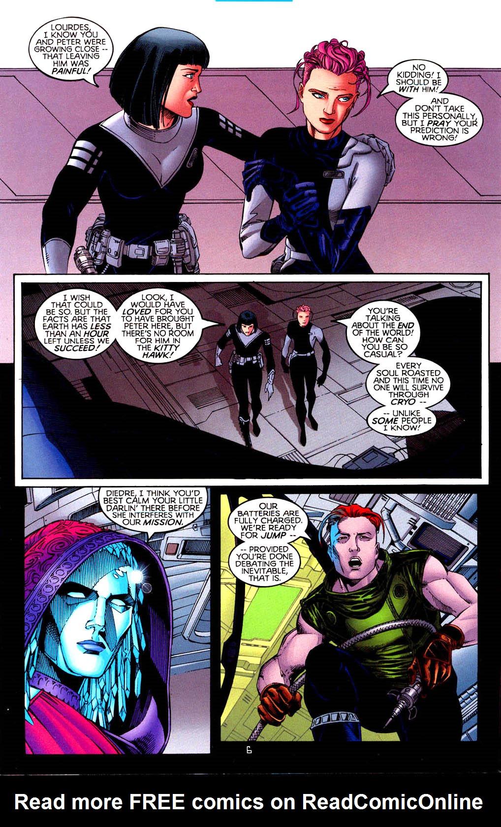 Read online Tangent Comics/ Doom Patrol comic -  Issue # Full - 7