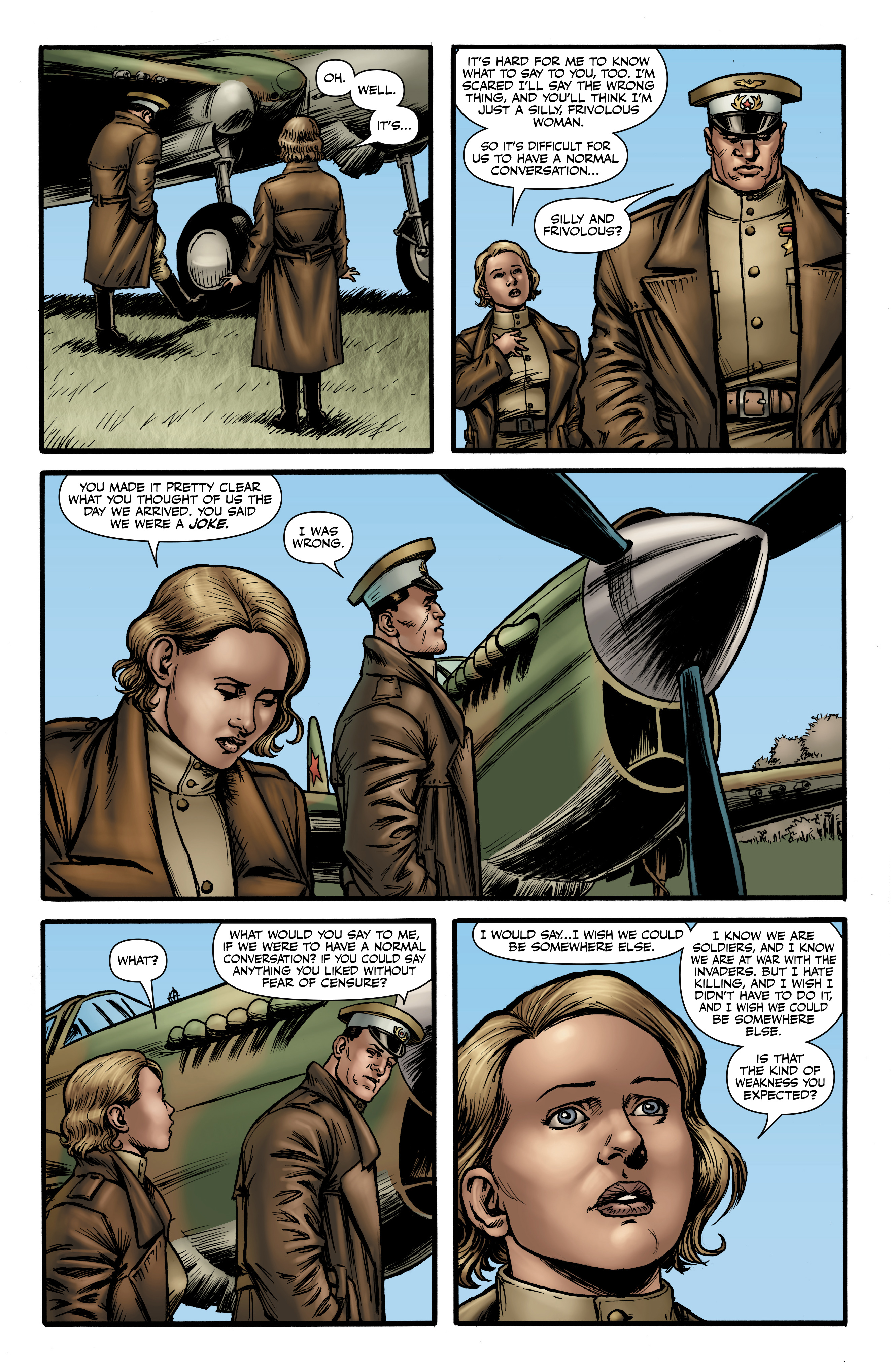 Read online Battlefields: Night Witches comic -  Issue # TPB - 47