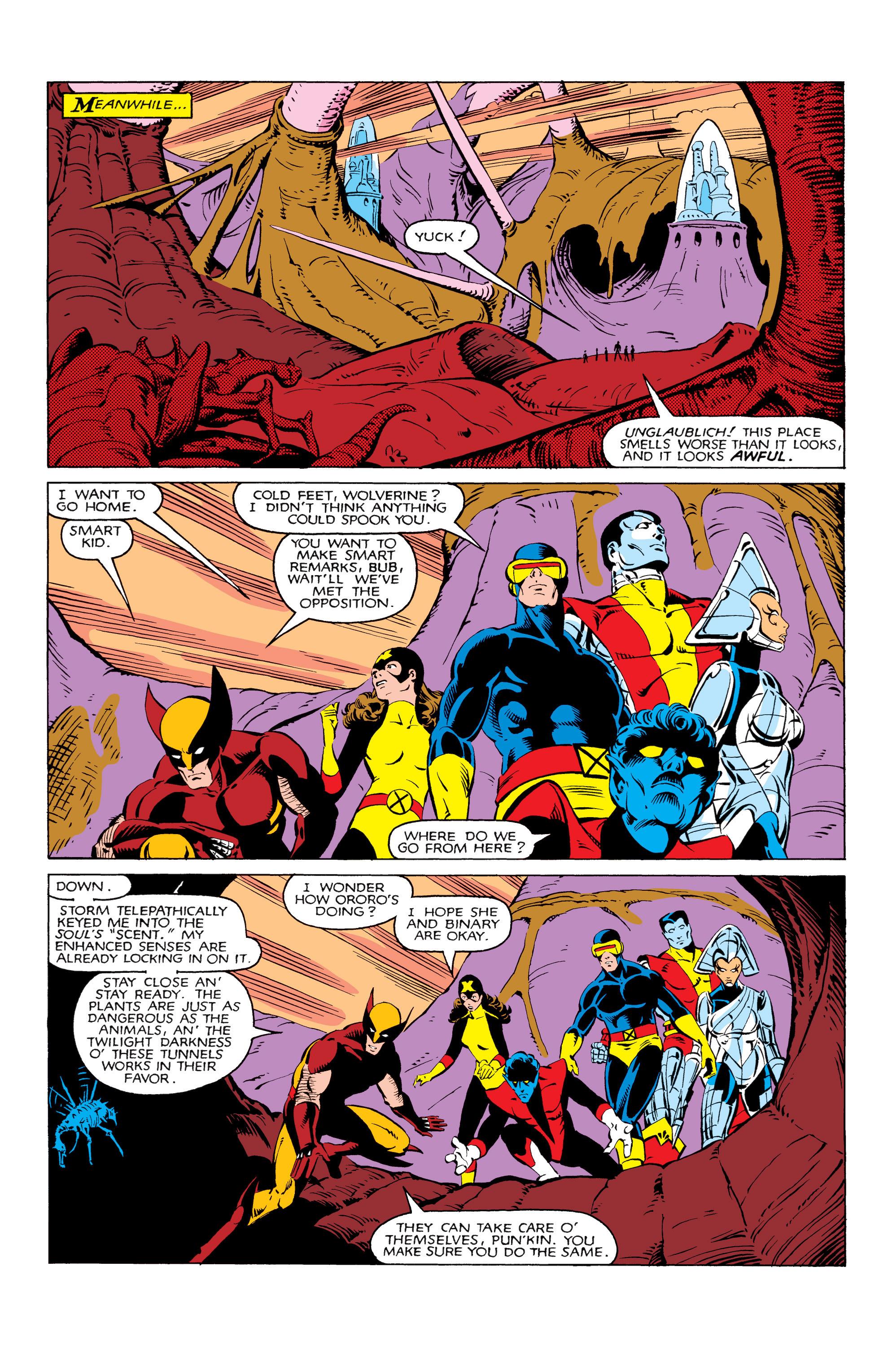 Read online Uncanny X-Men (1963) comic -  Issue #166 - 17