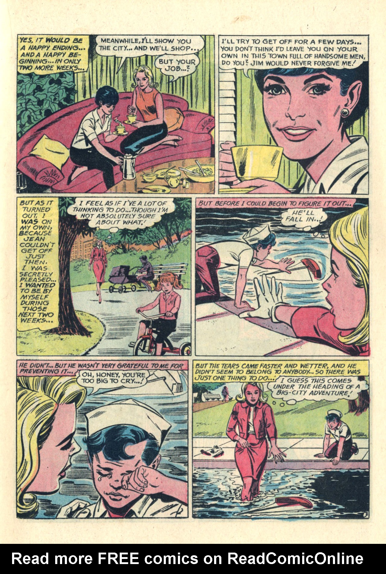 Read online Secret Hearts comic -  Issue #112 - 13