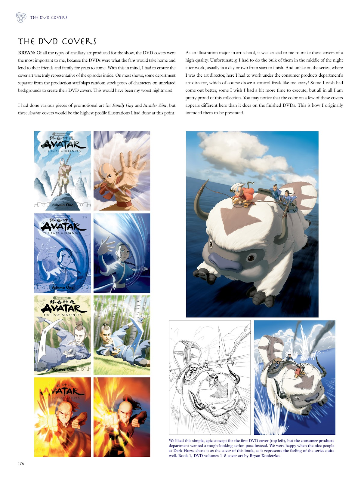 Read online Avatar: The Last Airbender - The Art of the Animated Series comic -  Issue # TPB (Part 2) - 73