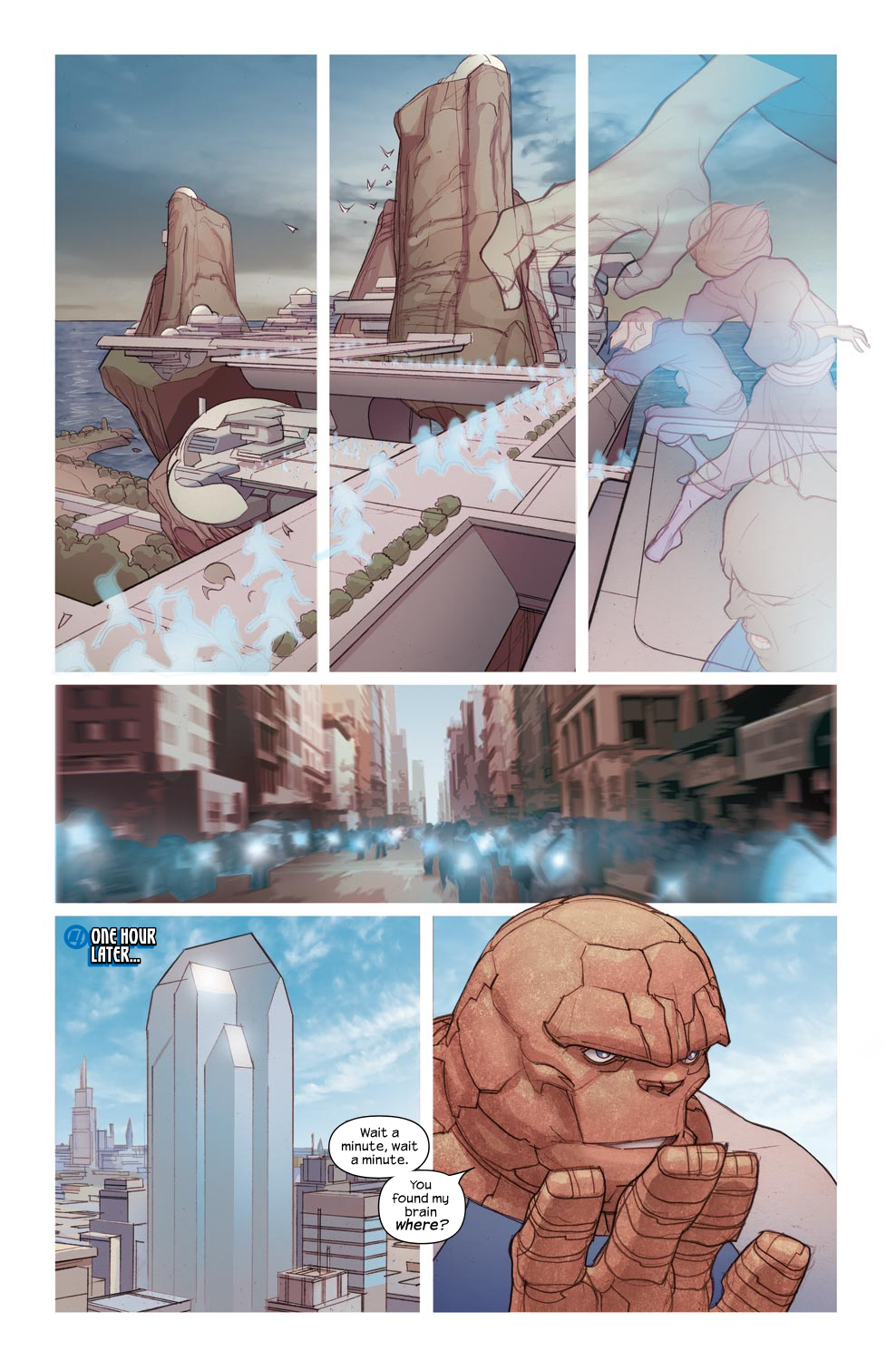Read online Ultimate Fantastic Four (2004) comic -  Issue #46 - 23