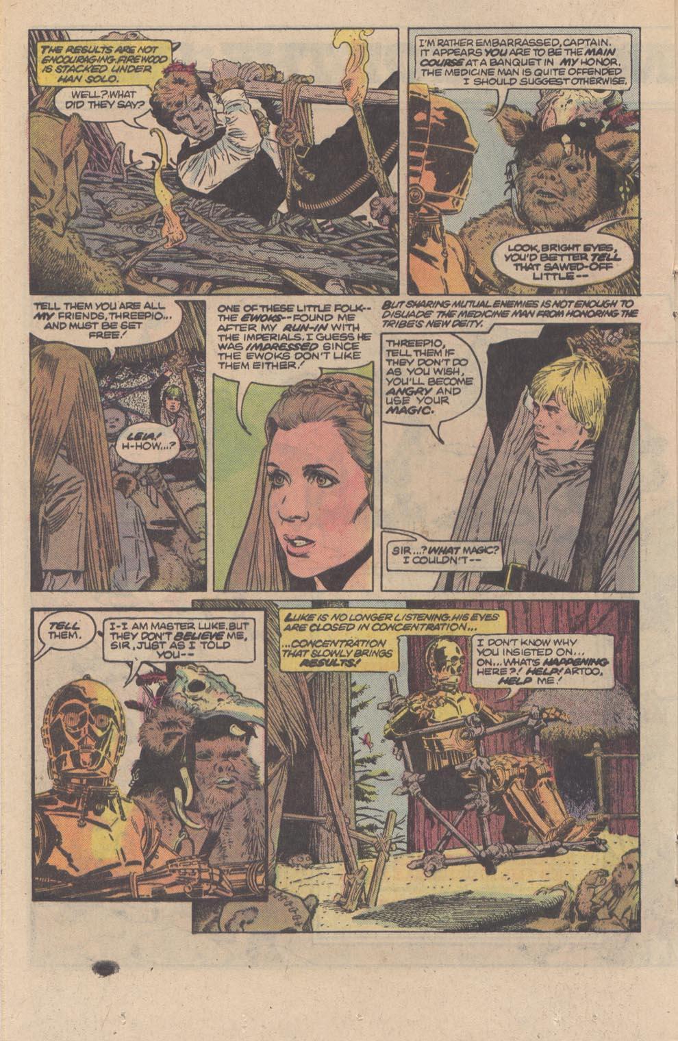 Comic Star Wars: Return of the Jedi issue 3