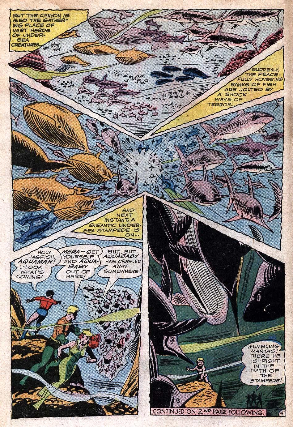 Read online Aquaman (1962) comic -  Issue #32 - 6