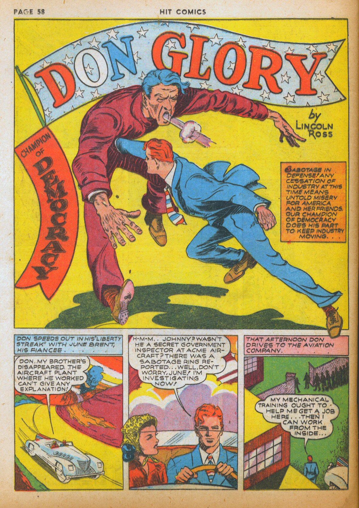Read online Hit Comics comic -  Issue #12 - 60