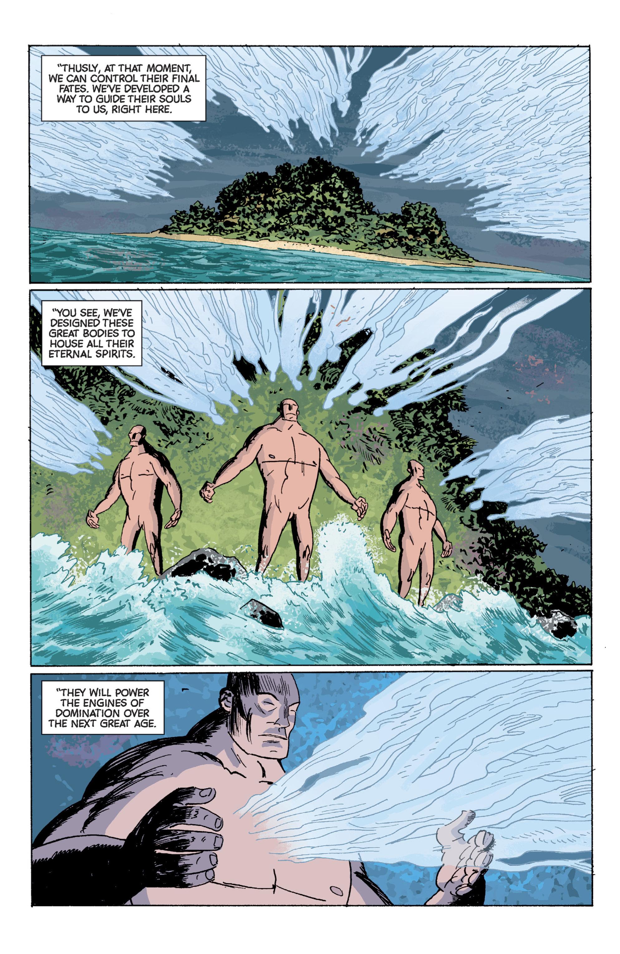 Read online B.P.R.D. (2003) comic -  Issue # TPB 7 - 100