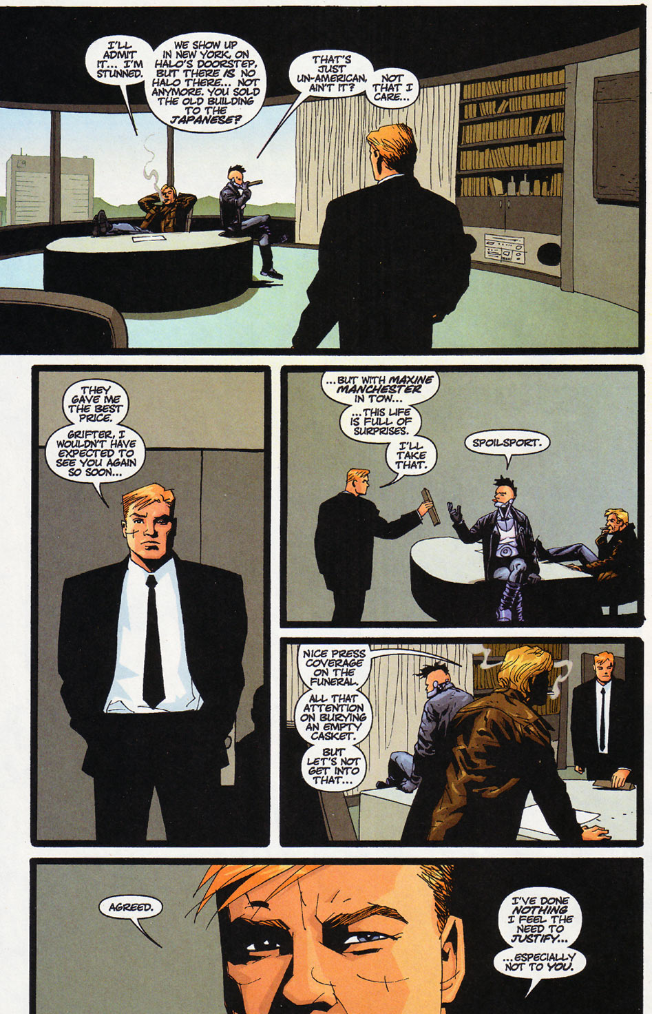 Wildcats (1999) Issue #12 #13 - English 20