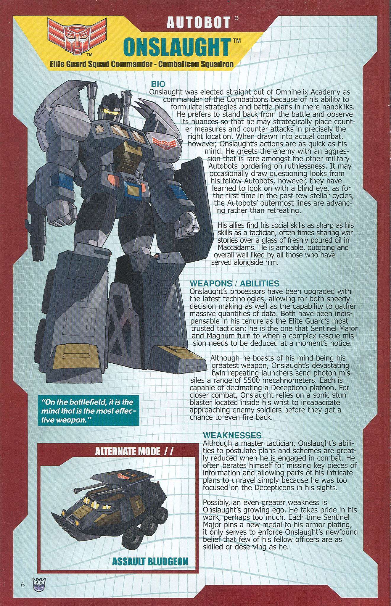 Read online Transformers: Collectors' Club comic -  Issue #33 - 6