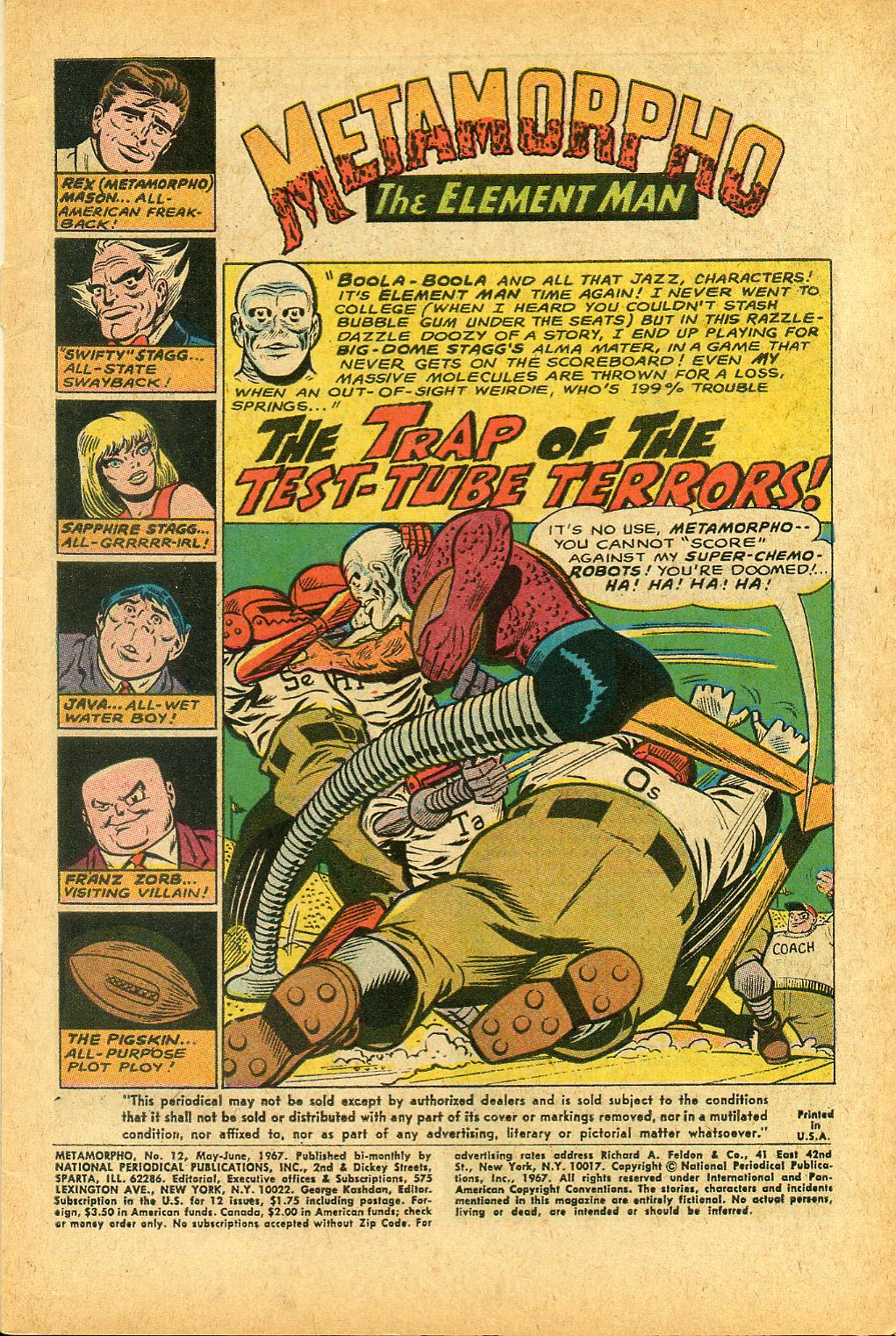 Metamorpho (1965) issue 12 - Page 3