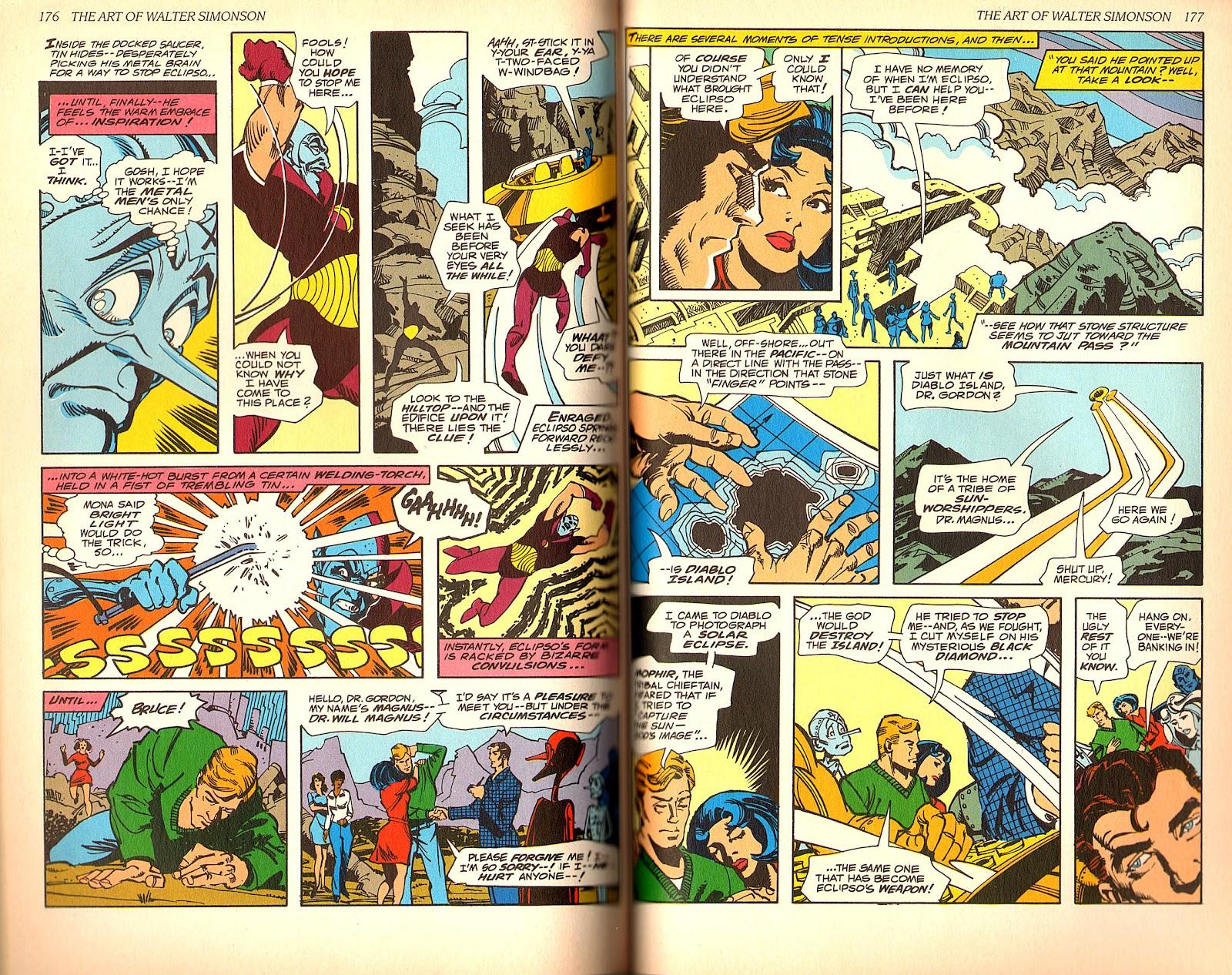 Read online The Art of Walter Simonson comic -  Issue # TPB - 90