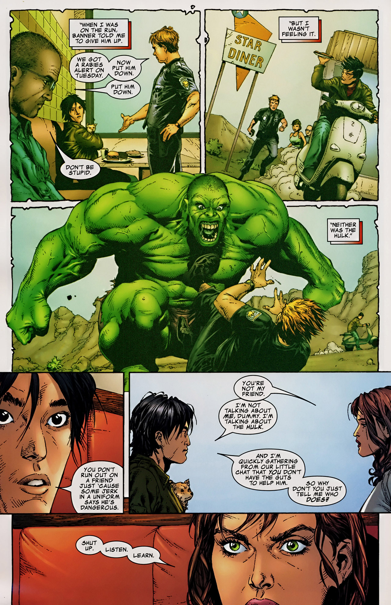 Read online The Incredible Hulk (2000) comic -  Issue #106 - 10